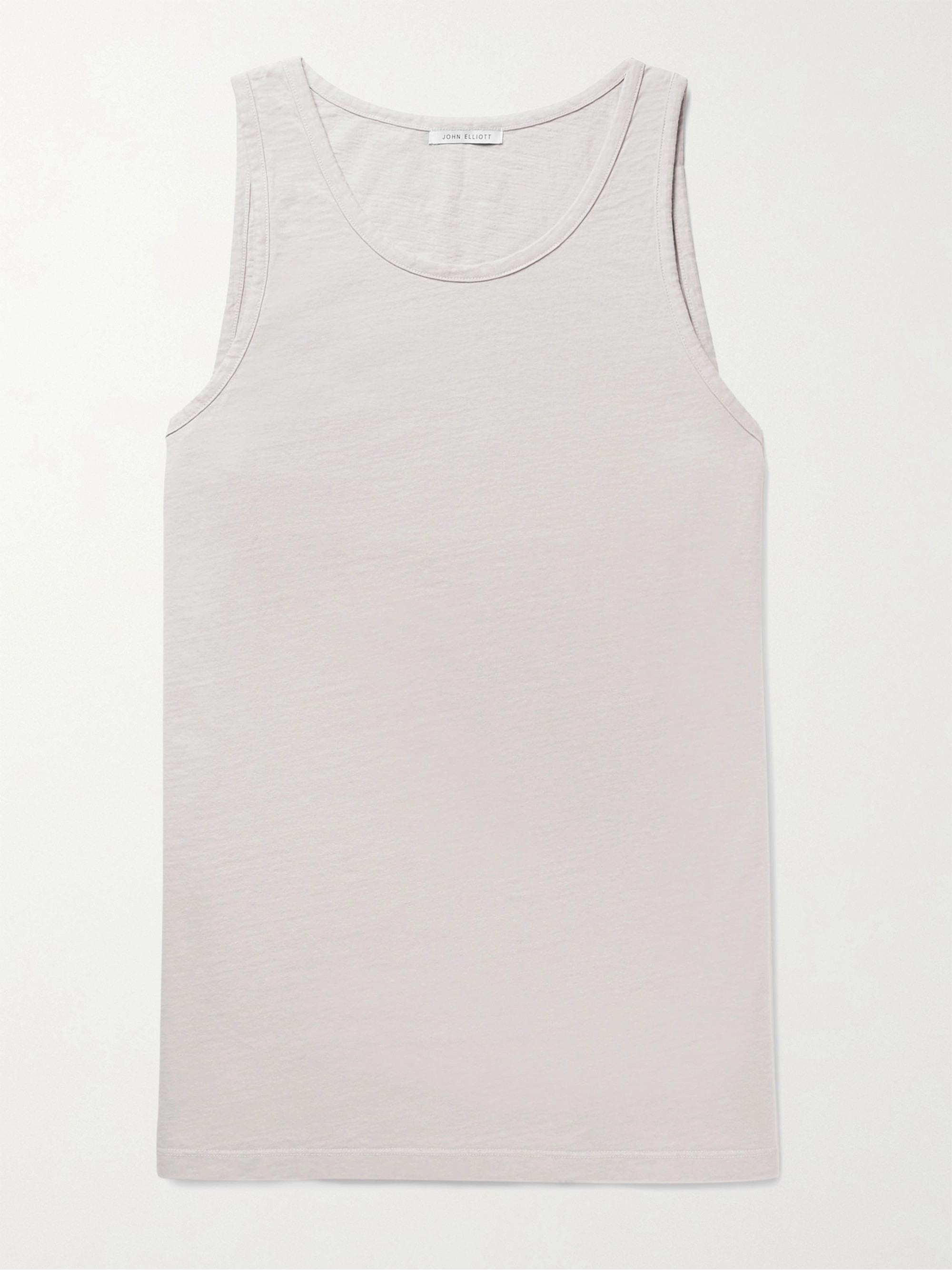 John Elliott Cotton Tank Top