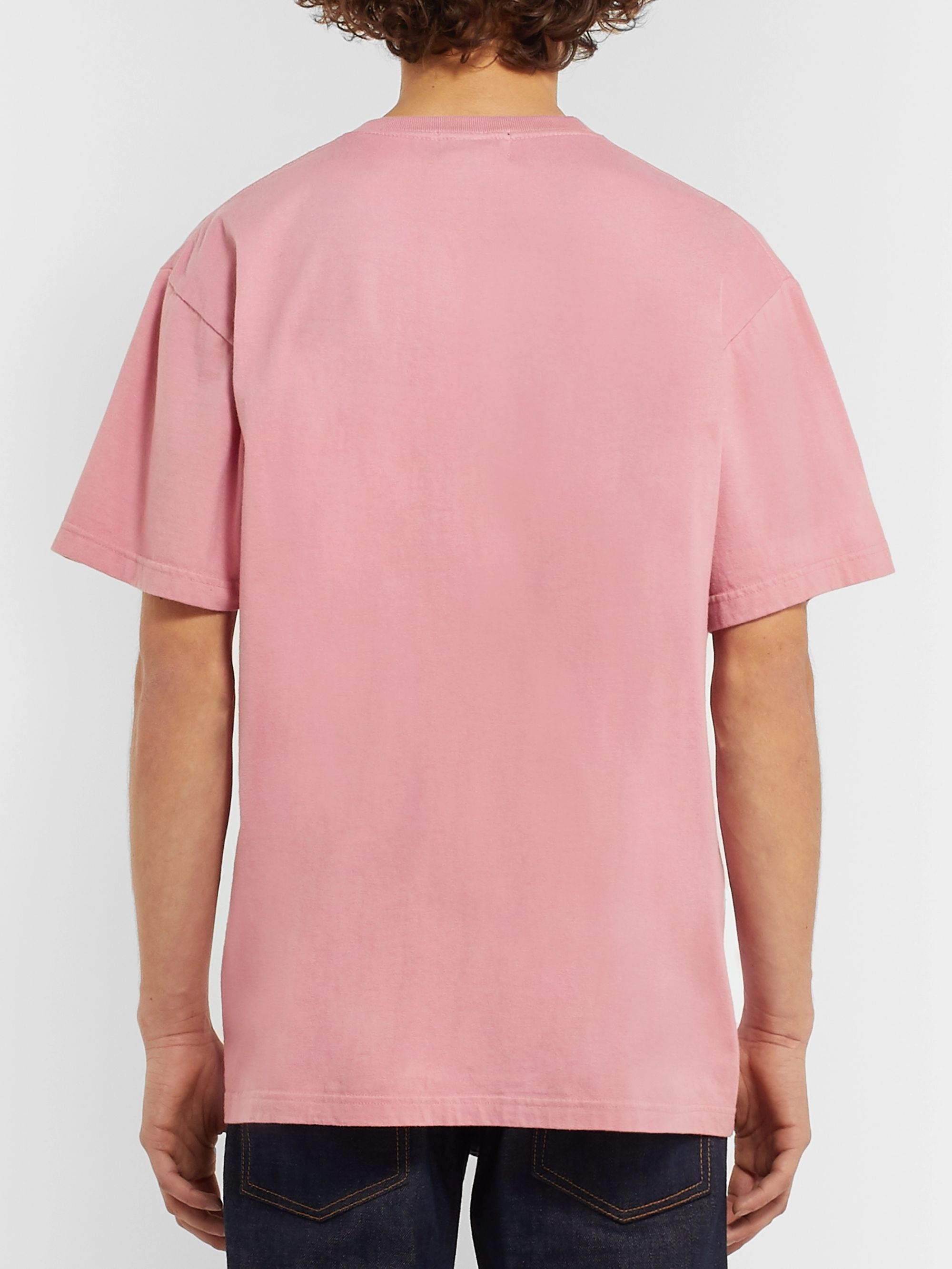 Beams Plus Printed Cotton-Jersey T-Shirt