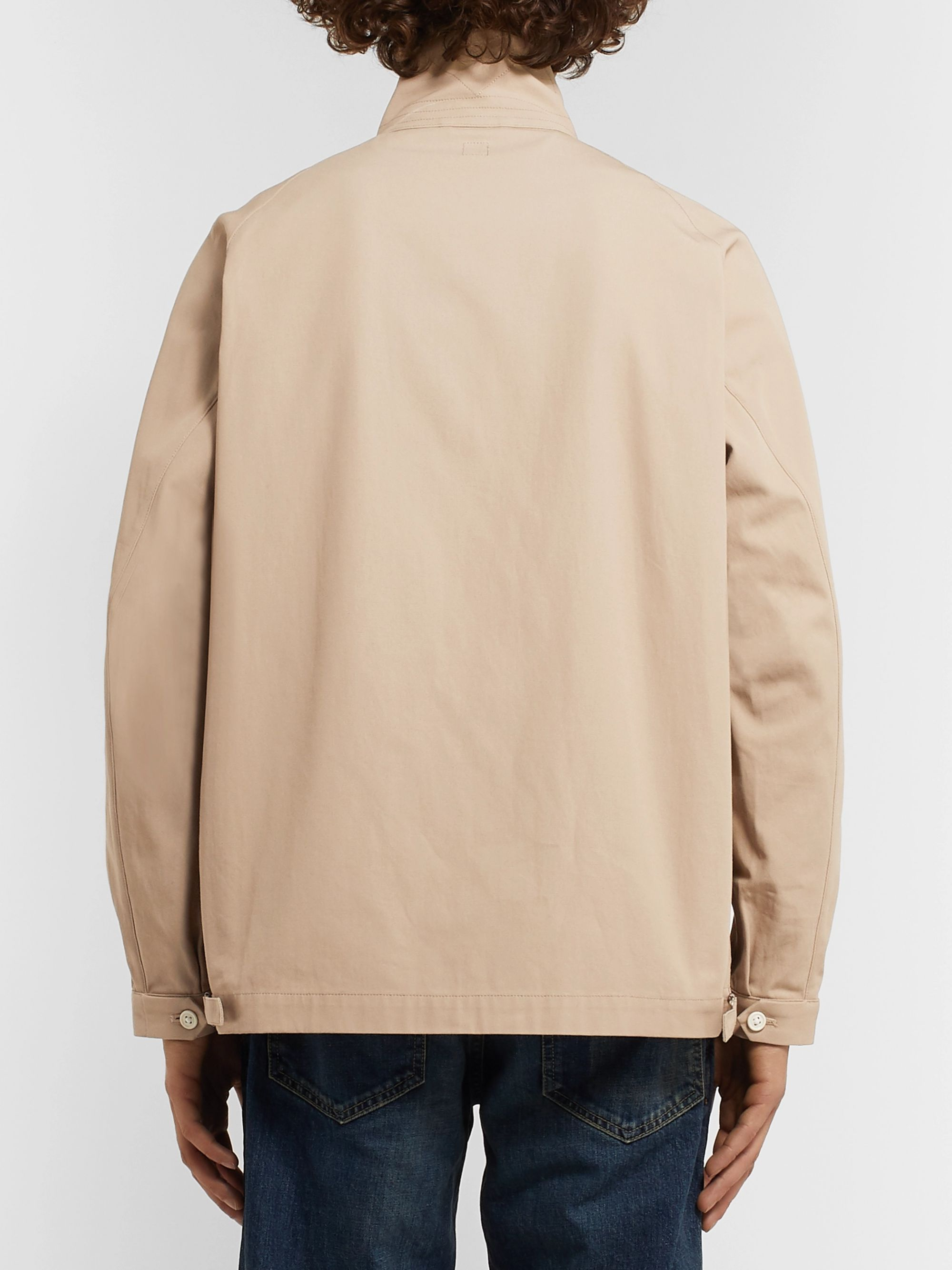Beams Plus + Kaptain Sunshine Cotton-Twill Blouson Jacket