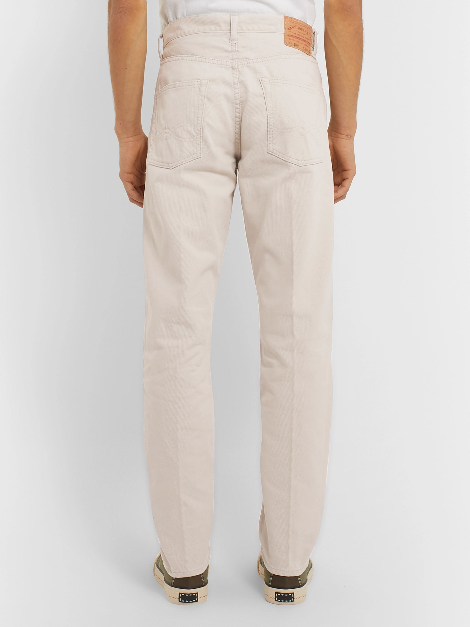 Beams Plus Slim-Fit Cotton Trousers