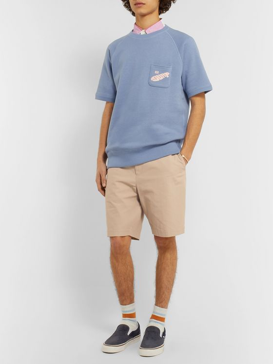 Beams Plus + Kaptain Sunshine Cotton-Twill Shorts