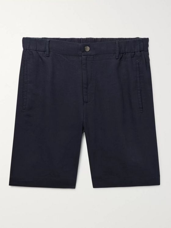 Incotex Slim-Fit Linen Shorts