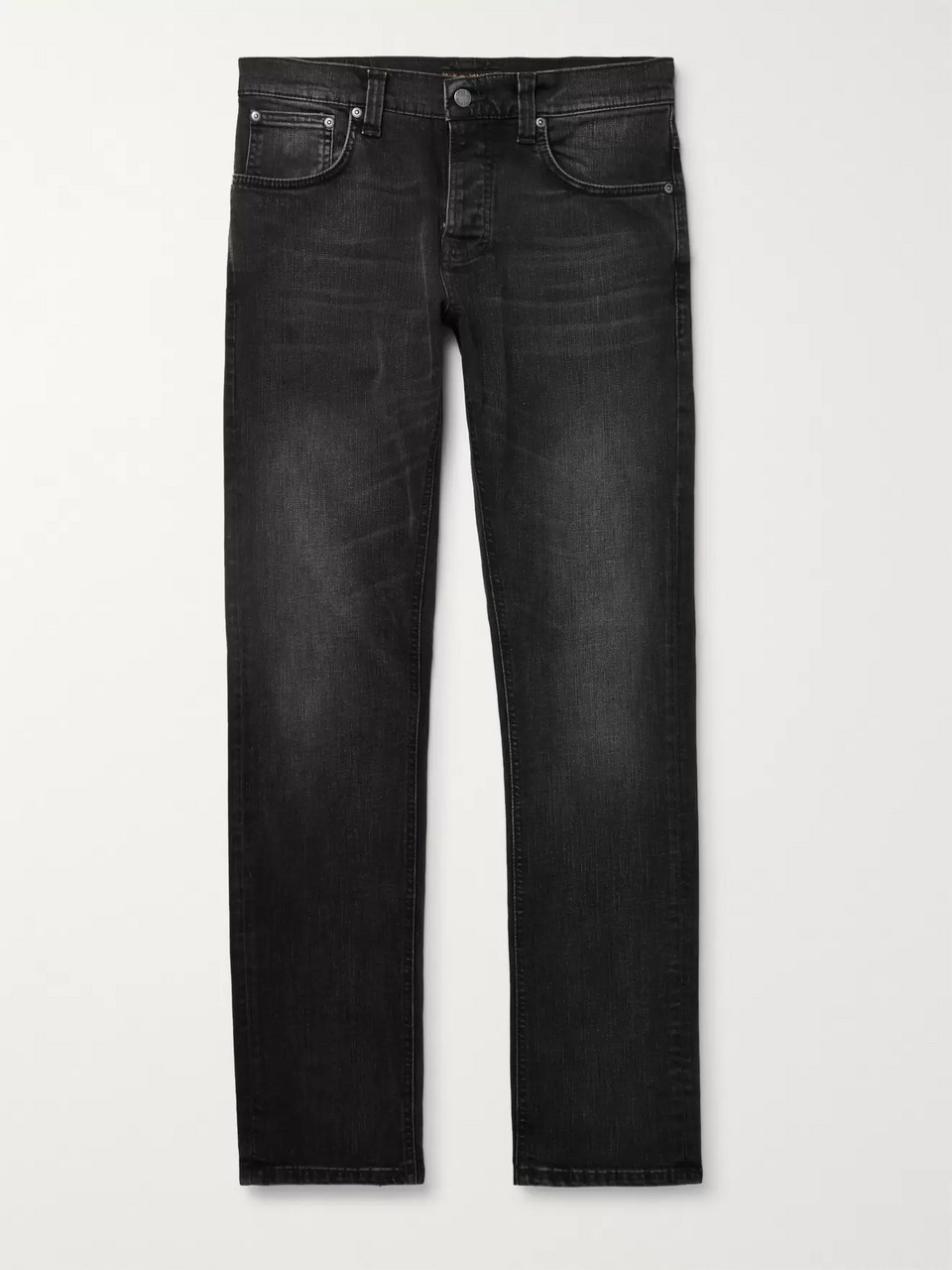Nudie Jeans Grim Tim Slim-Fit Organic Denim Jeans