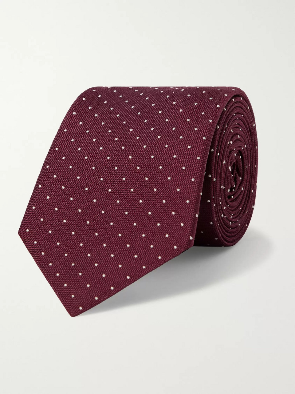 Paul Smith 6cm Pin-Dot Silk Tie