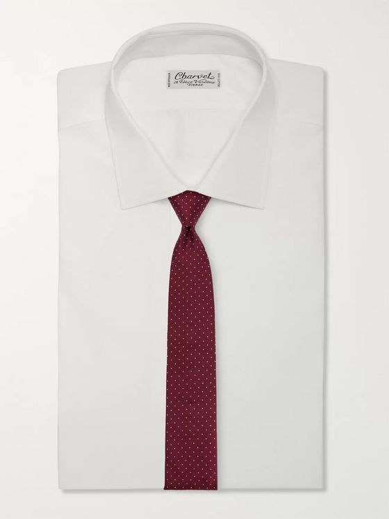 Paul Smith 6cm Pin-Dot Silk-Faille Tie