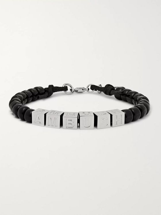 AMBUSH® Silver-Tone Beaded Bracelet