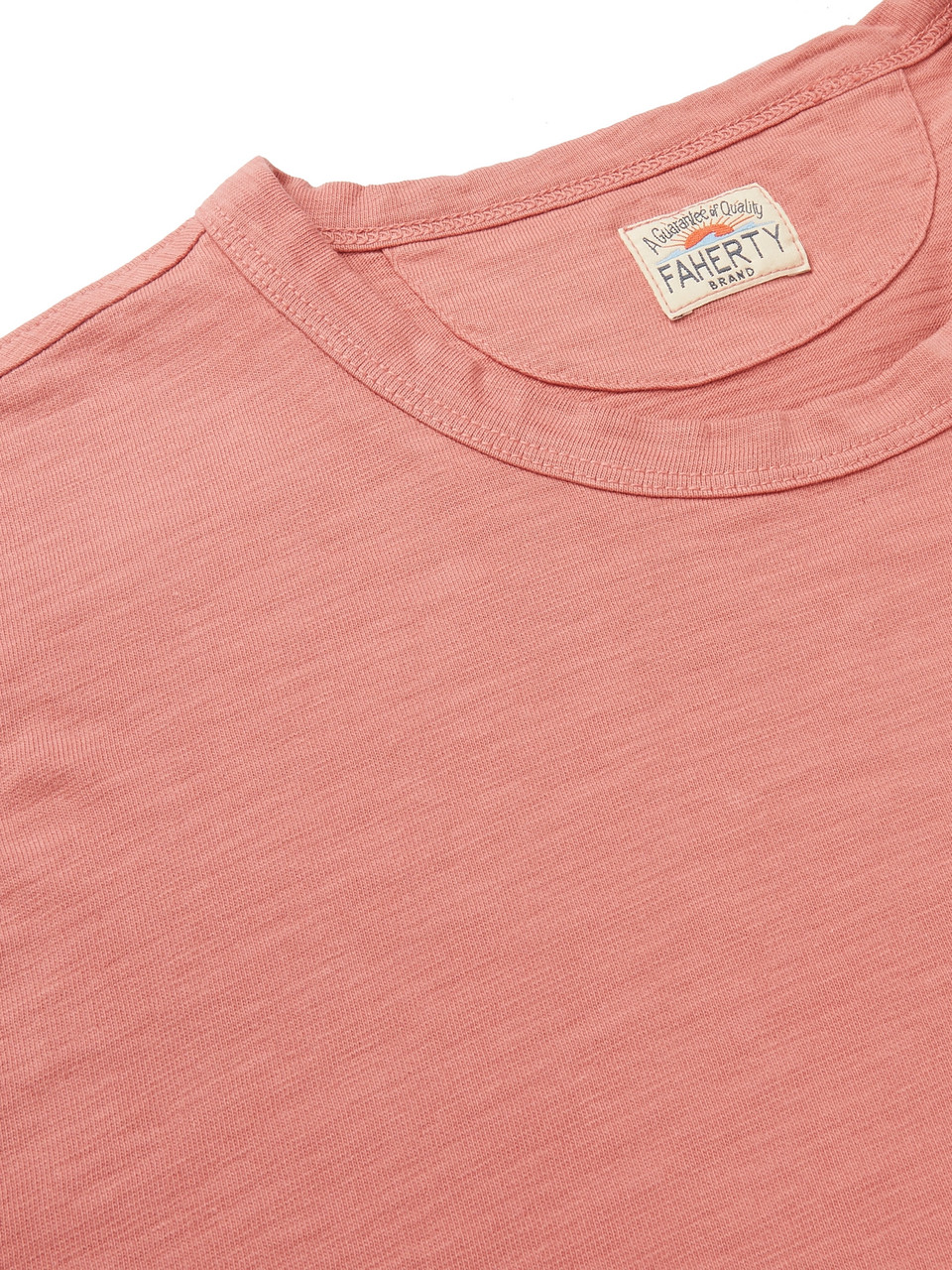 Faherty Garment-Dyed Slub Cotton-Jersey T-Shirt