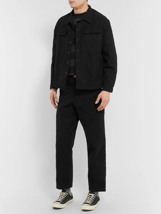 Story Mfg. Bicker Organic Slub Cotton Overshirt