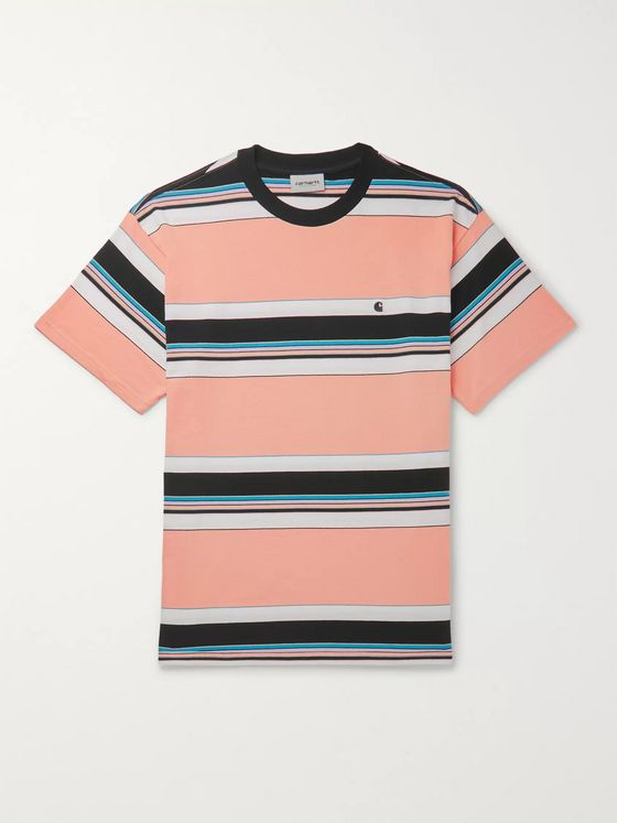 Carhartt WIP Ozark Striped Cotton-Jersey T-Shirt