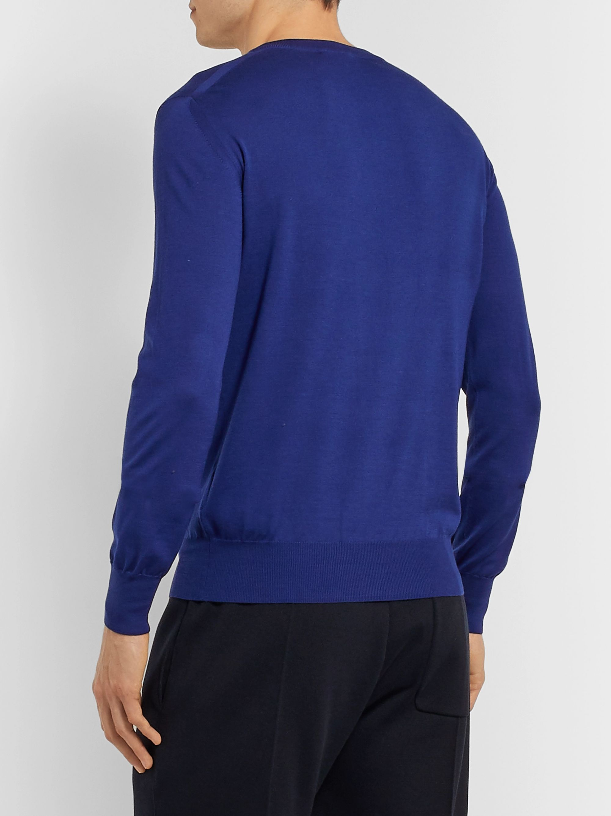 Brioni Virgin Wool Sweater