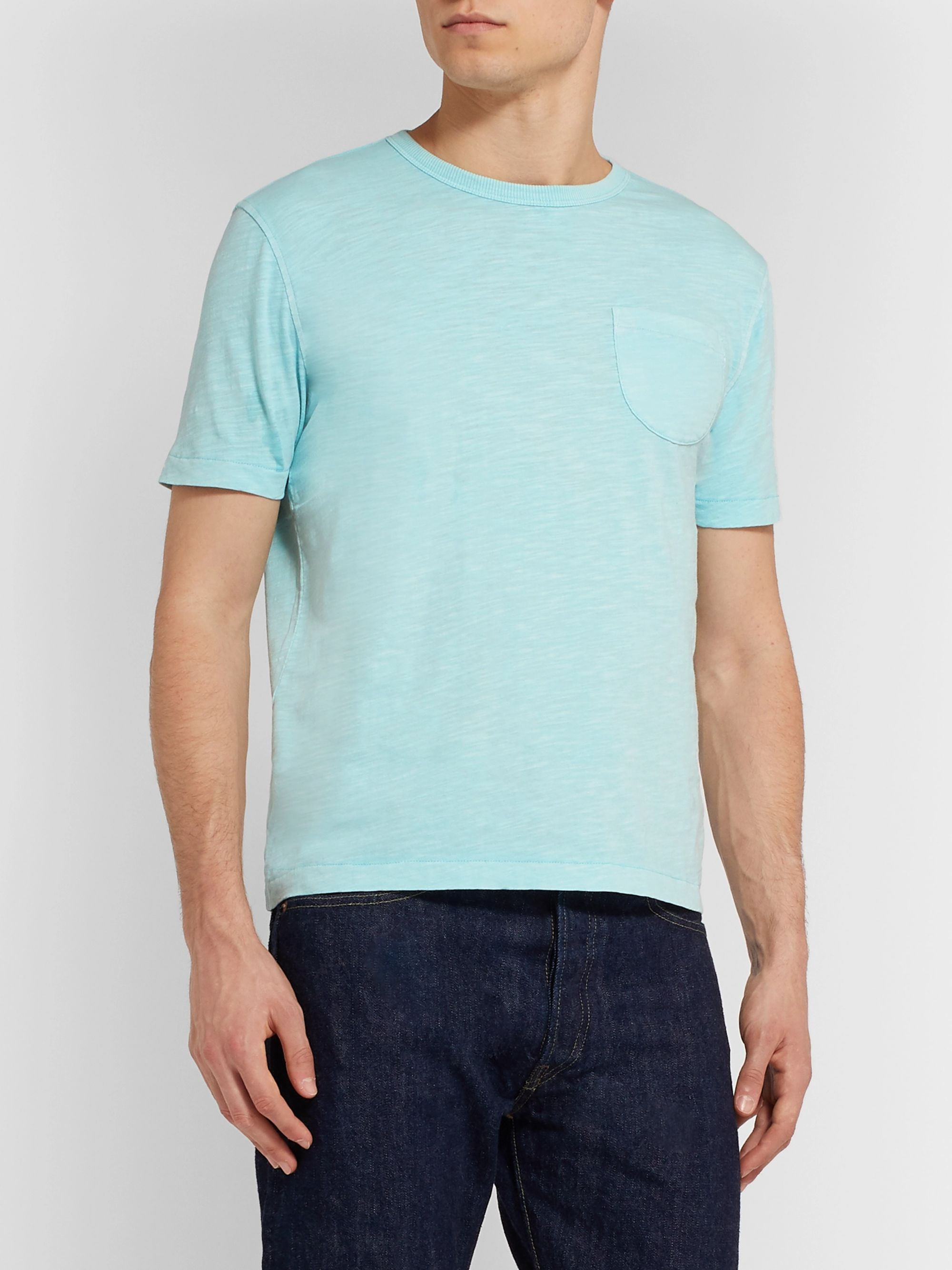 YMC Slim-Fit Slub Cotton-Jersey T-Shirt
