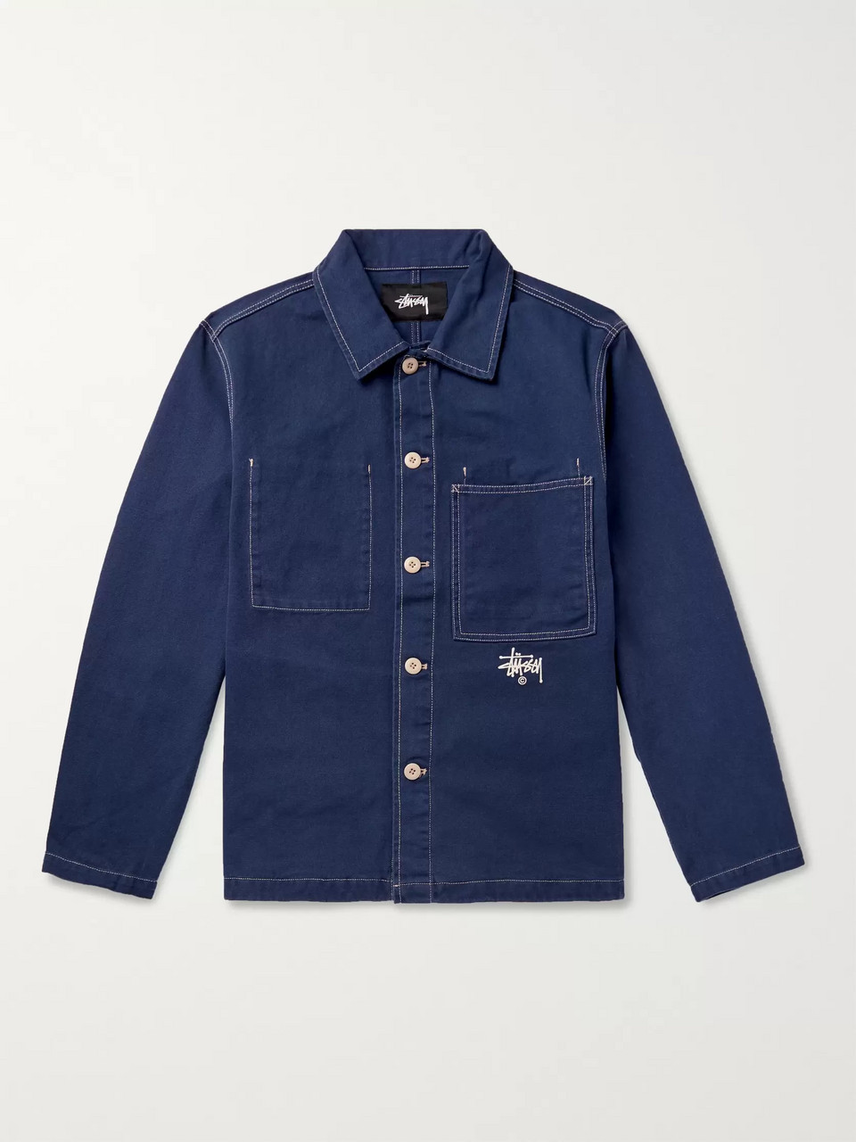 Stüssy Denim Shirt Jacket