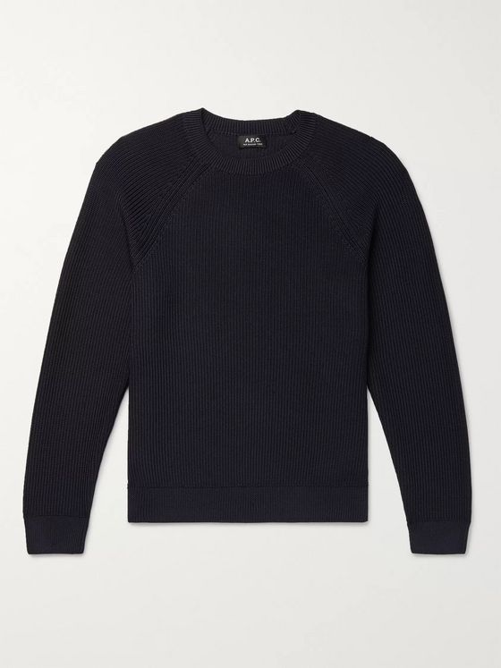 A.P.C. Slim-Fit Knitted Sweater