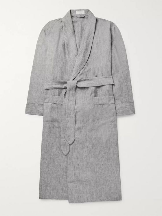 Emma Willis Slub Linen Robe