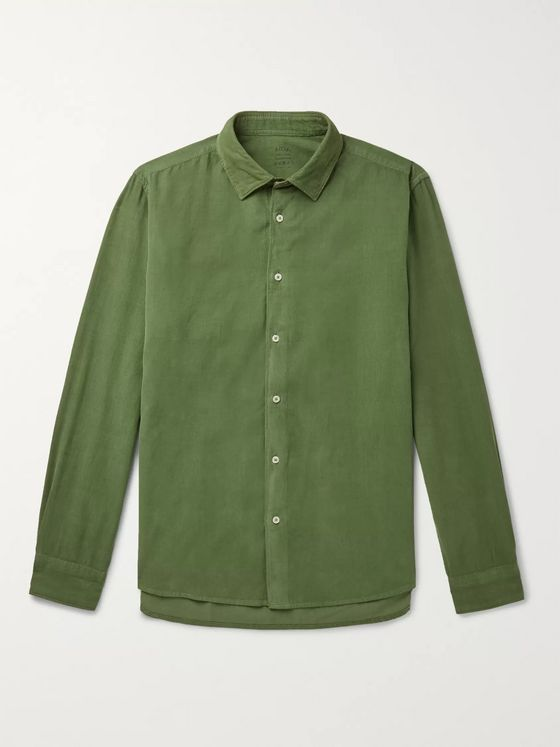 Altea Cotton-Corduroy Shirt