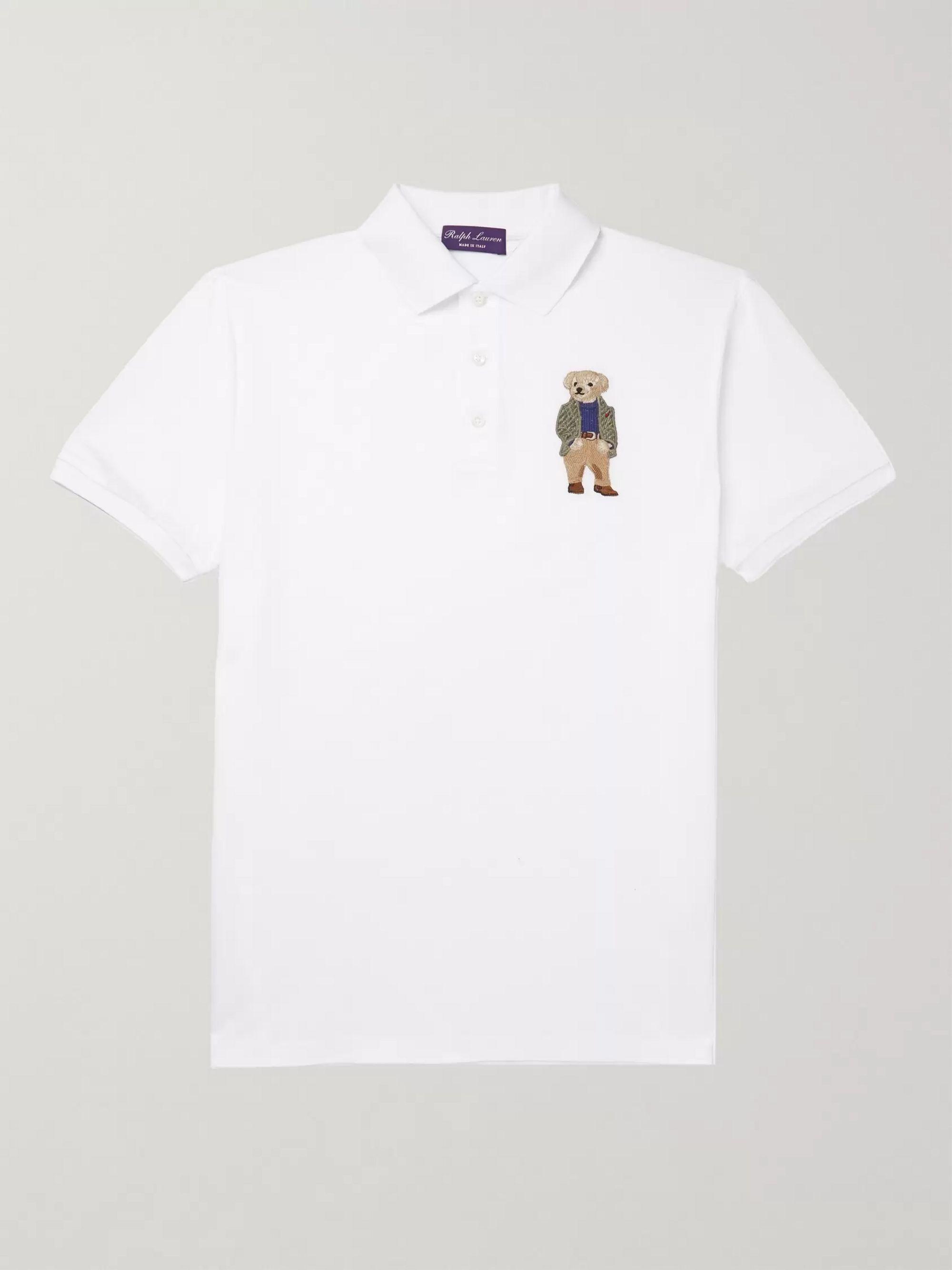Shirt Embroidered Embroidered Cotton Piqué Polo Cotton Piqué Polo qzUMVpGLS