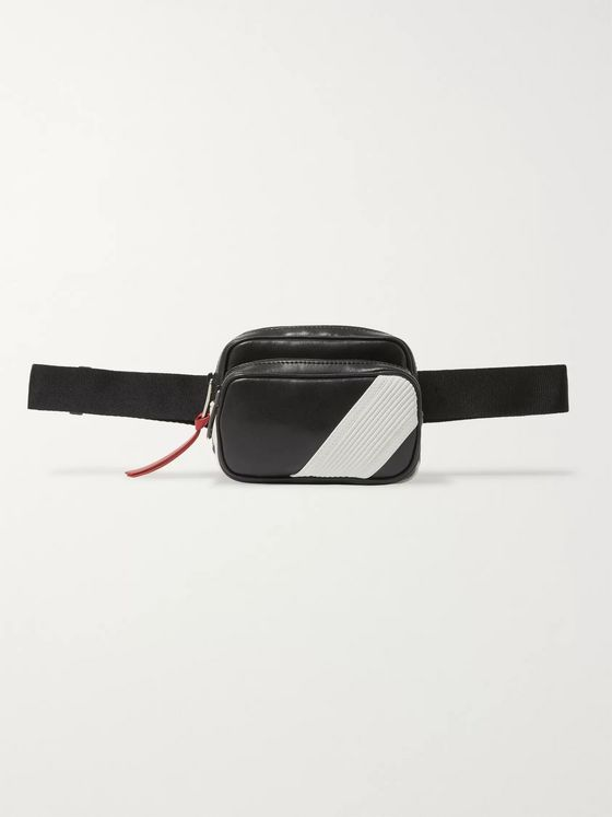 Givenchy Logo-Appliquéd Leather Belt Bag