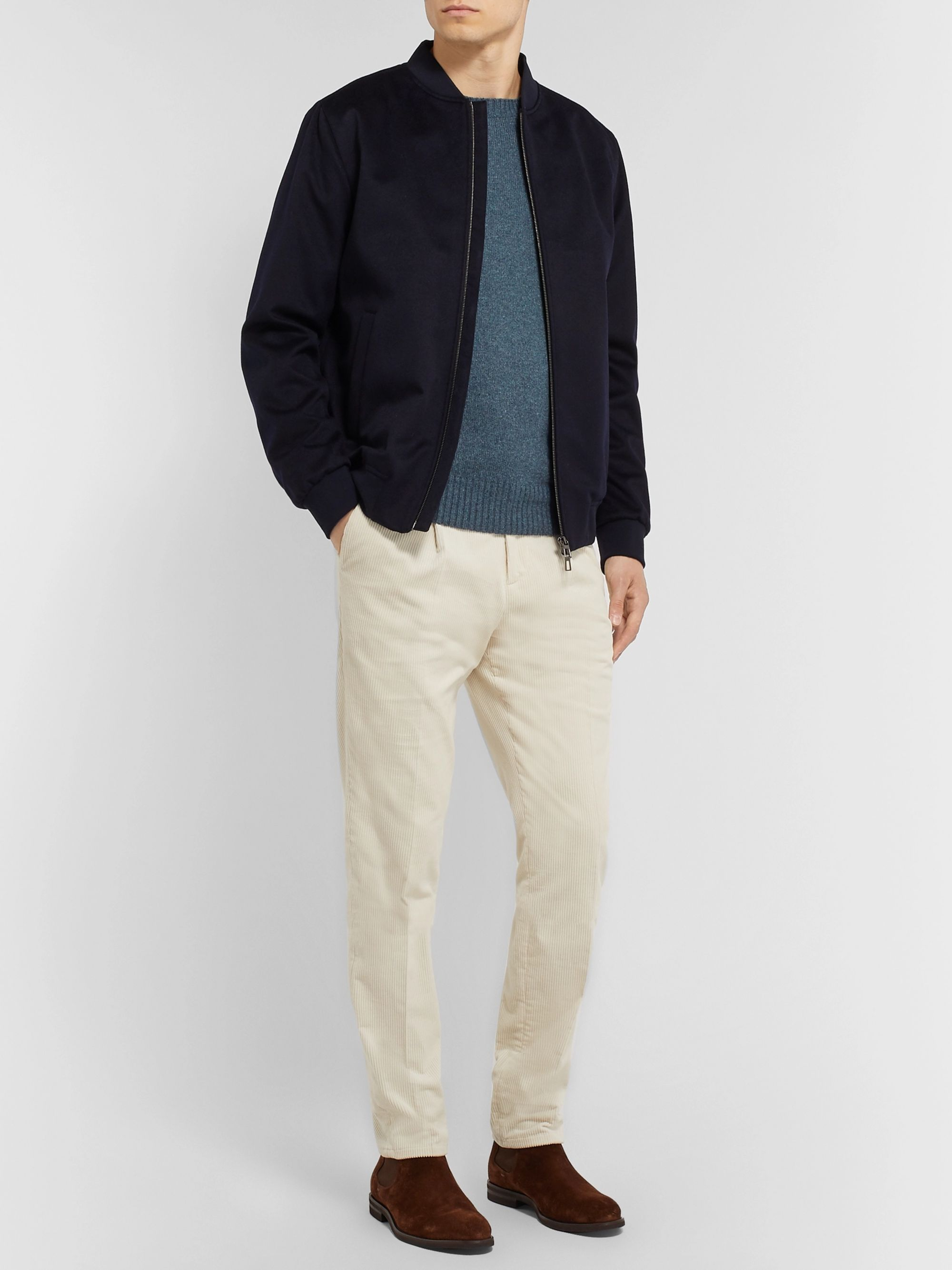 LORO PIANA Slim-Fit Cashmere Sweater