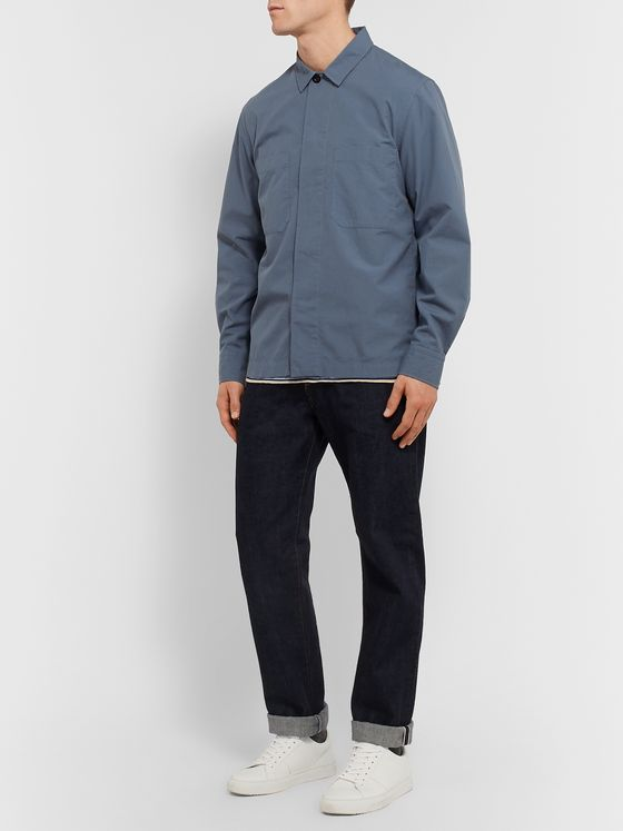 Mr P. Cotton-Ripstop Overshirt