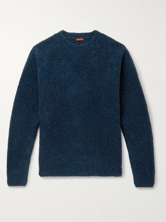 Barena Mélange Wool-Blend Sweater