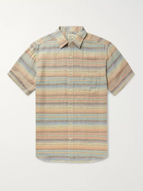 Faherty Coast Tencel and Linen-Blend Shirt