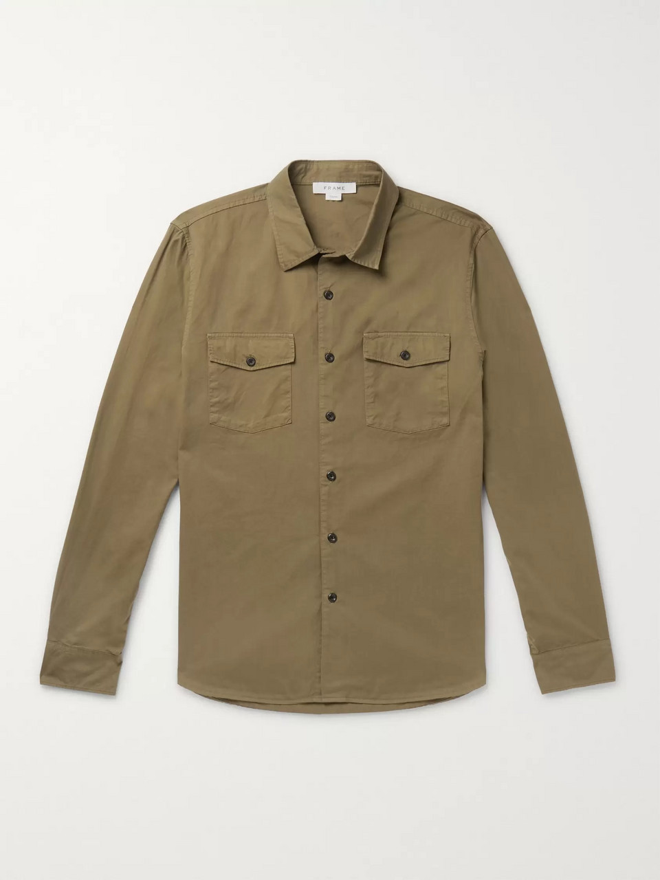 FRAME Cotton-Twill Shirt
