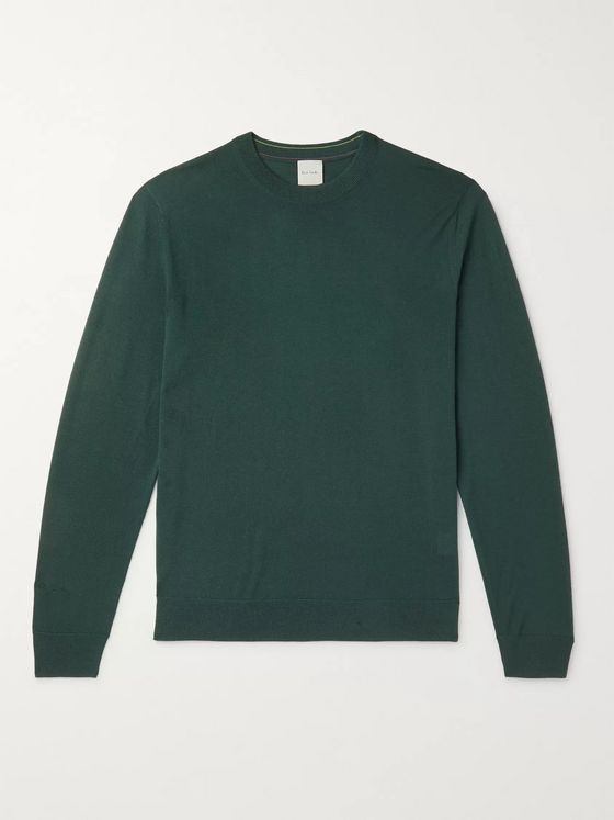 Paul Smith Slim-Fit Merino Wool Sweater