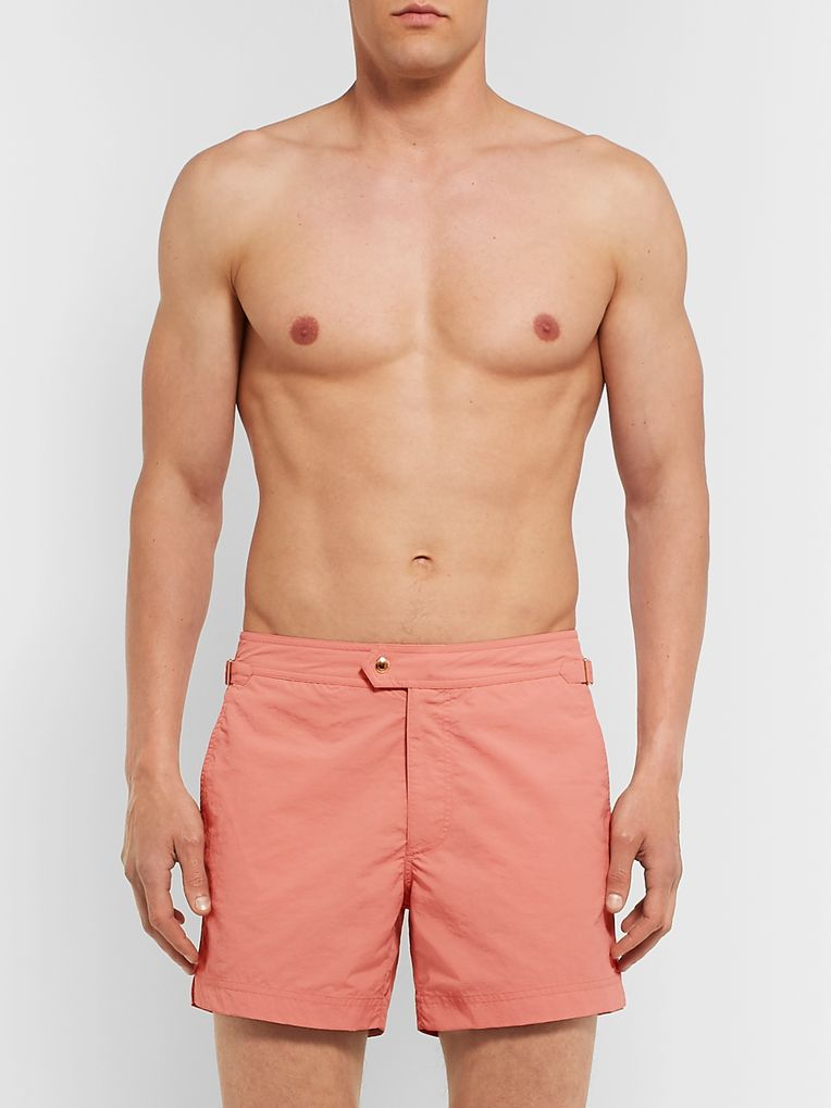 TOM FORD Mid-Length Slim-Fit Swim Shorts