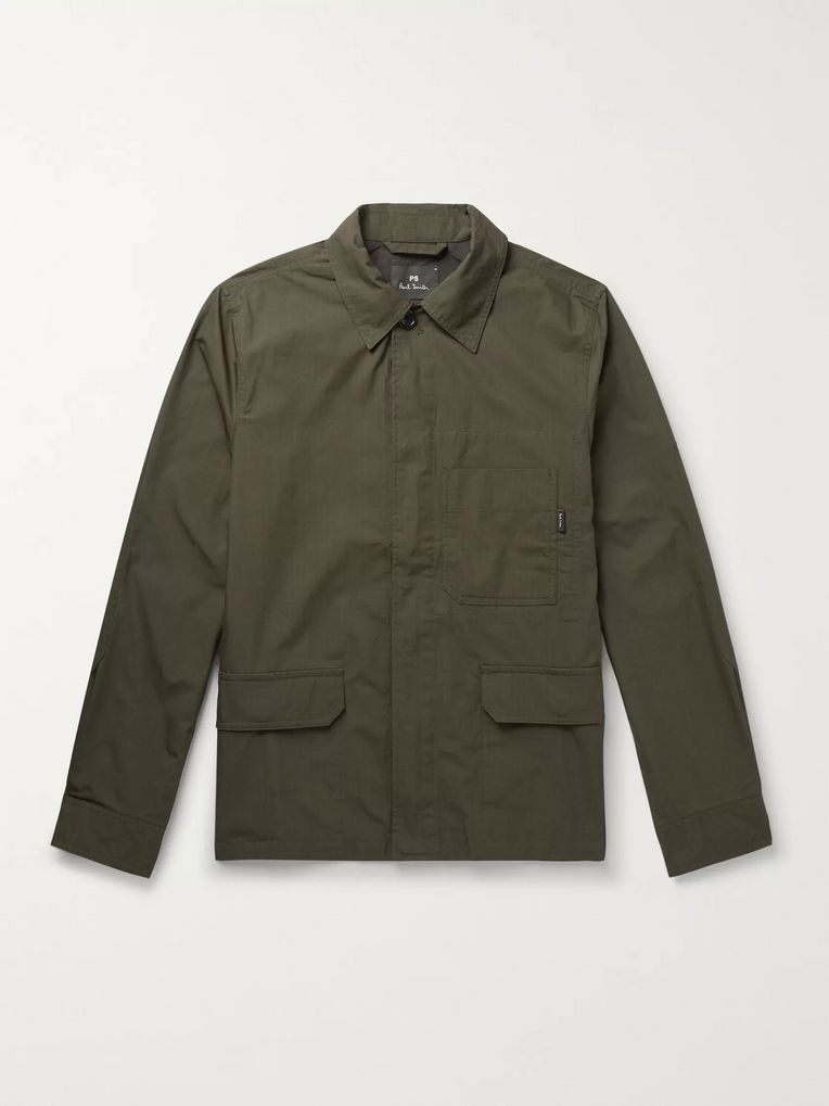 PS Paul Smith Cotton-Blend Ripstop Field Jacket