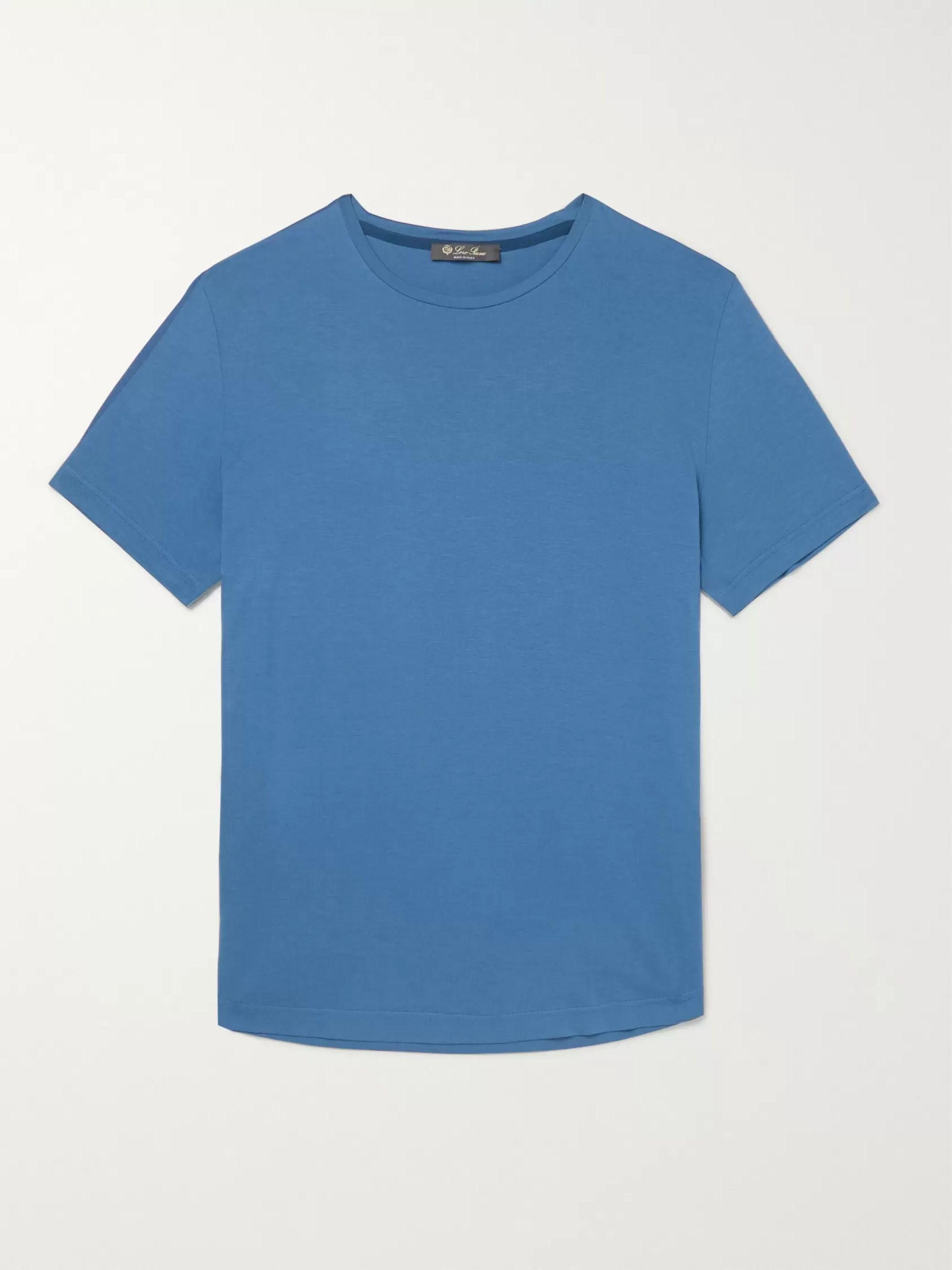 Loro Piana Silk and Cotton-Blend T-Shirt