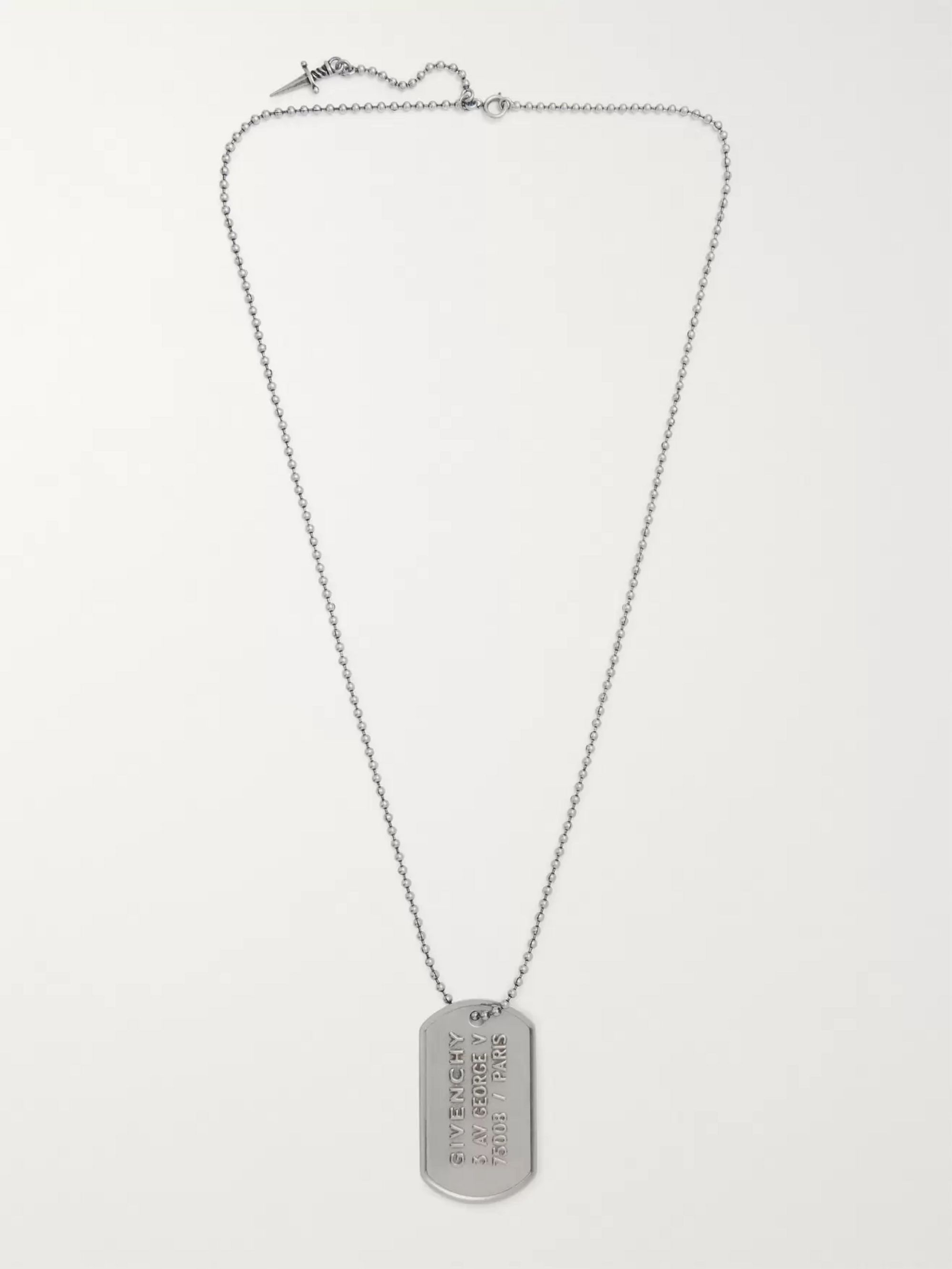 Givenchy Silver-Tone Necklace