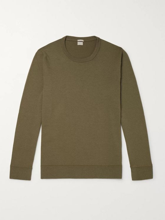 Massimo Alba Watercolour-Dyed Cashmere Sweater