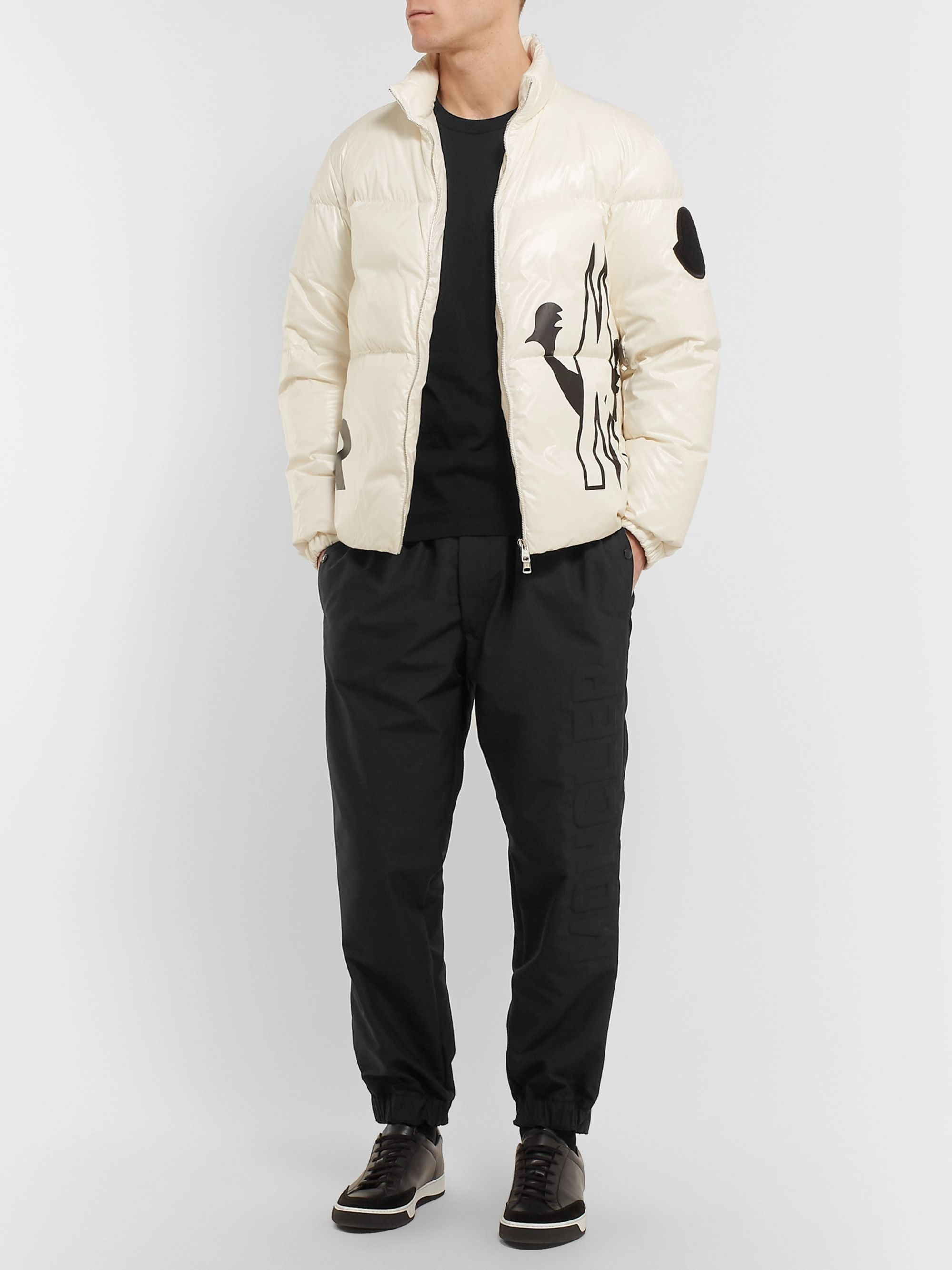 Moncler Tapered Shell Trousers