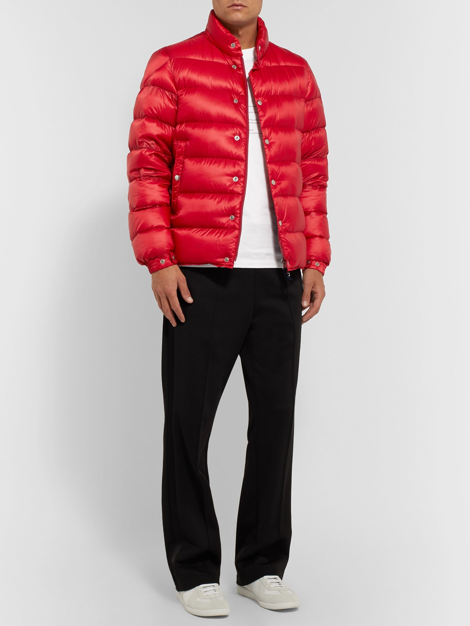 Piriac Slim Fit Quilted Shell Down Jacket