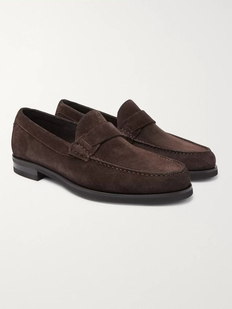 Canali Suede Loafers