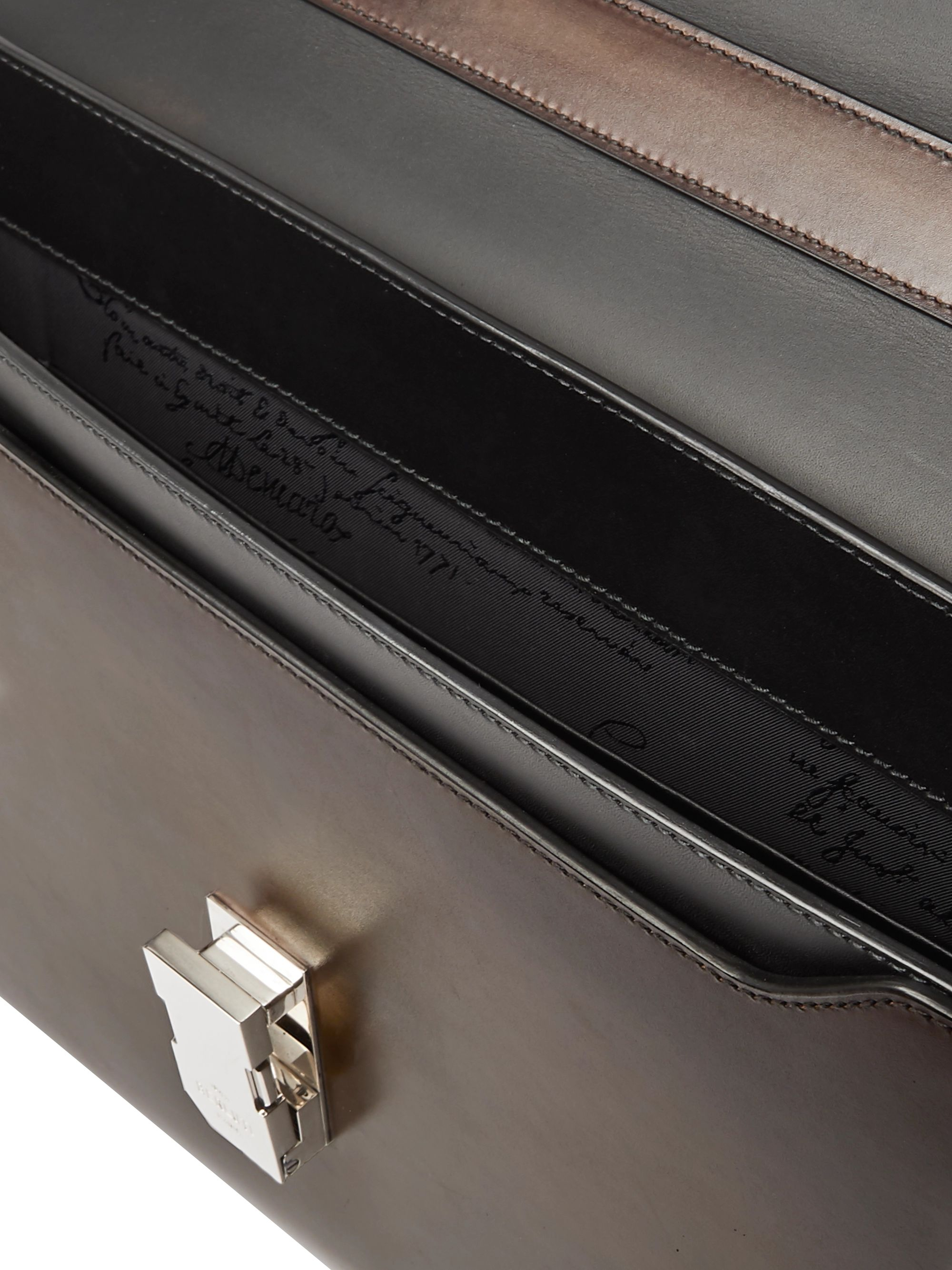 Berluti Leather Briefcase