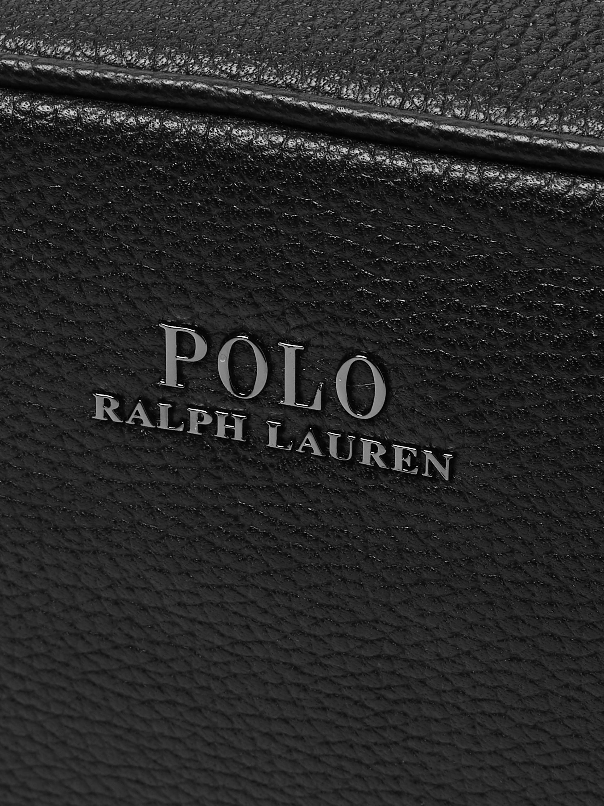 Polo Ralph Lauren Pebble-Grain Leather Wash Bag