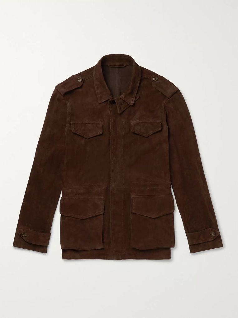 Kingsman Suede Field Jacket