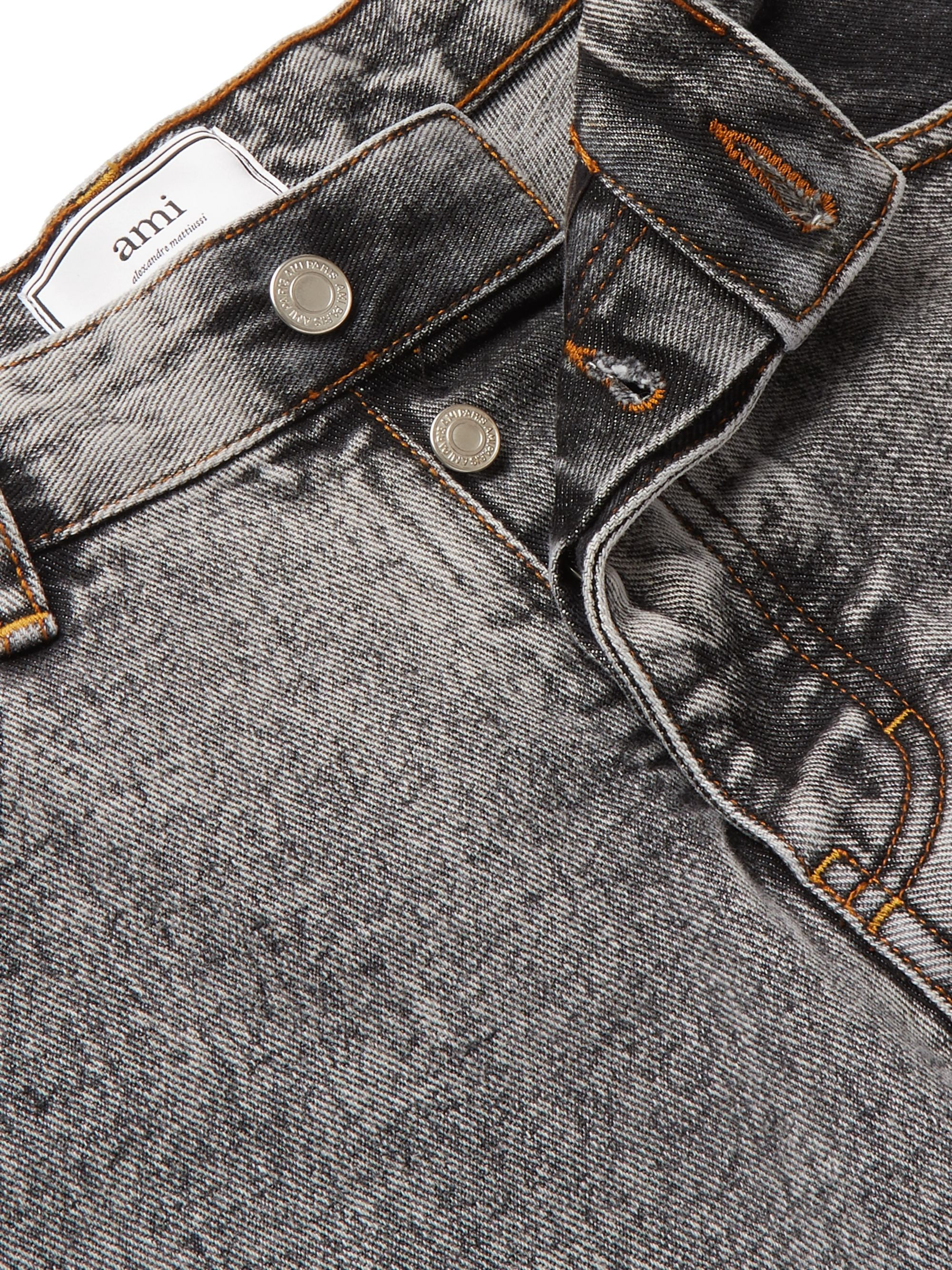 AMI Slim-Fit Denim Jeans