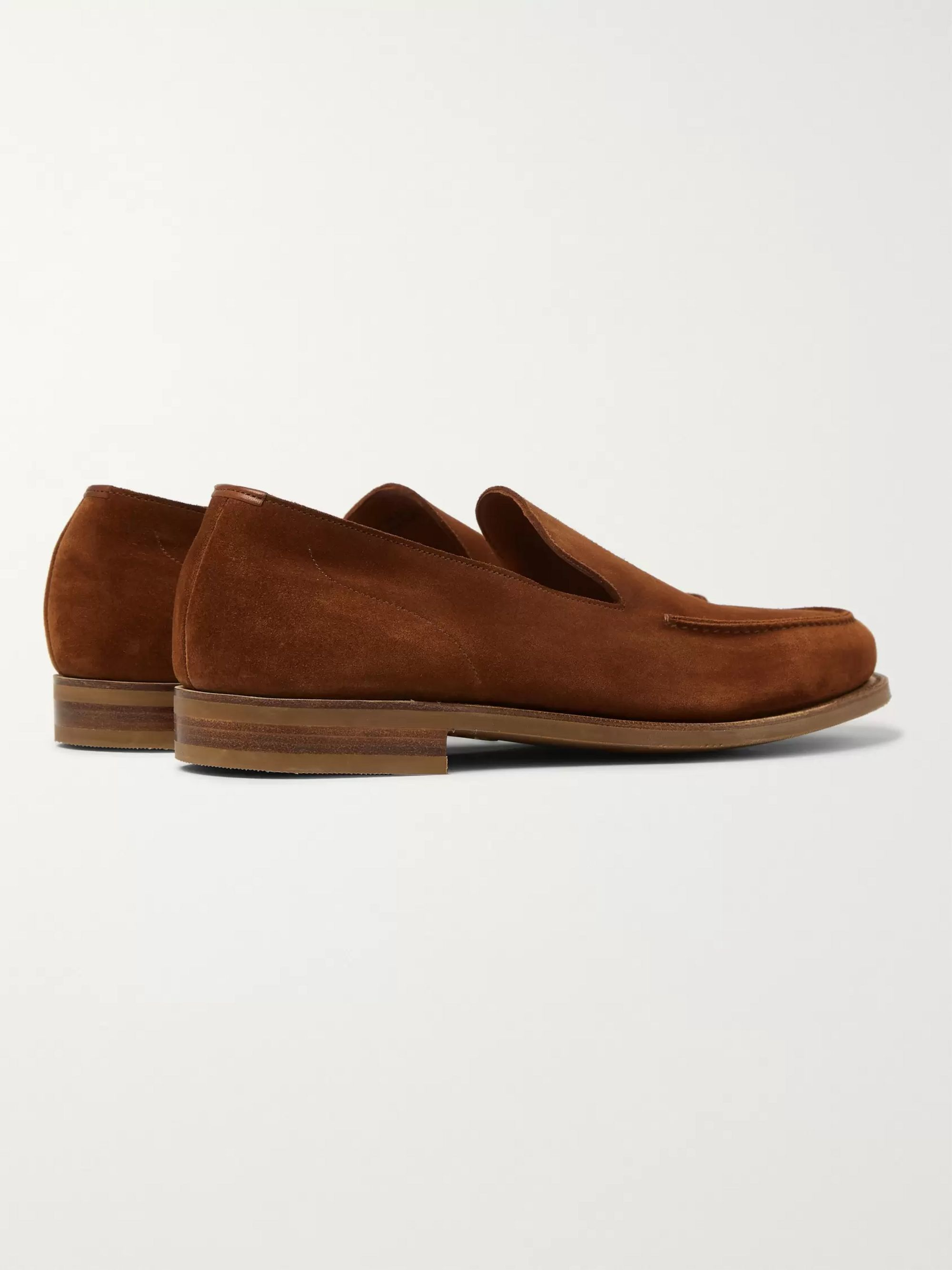 Edward Green Islington Suede Loafers