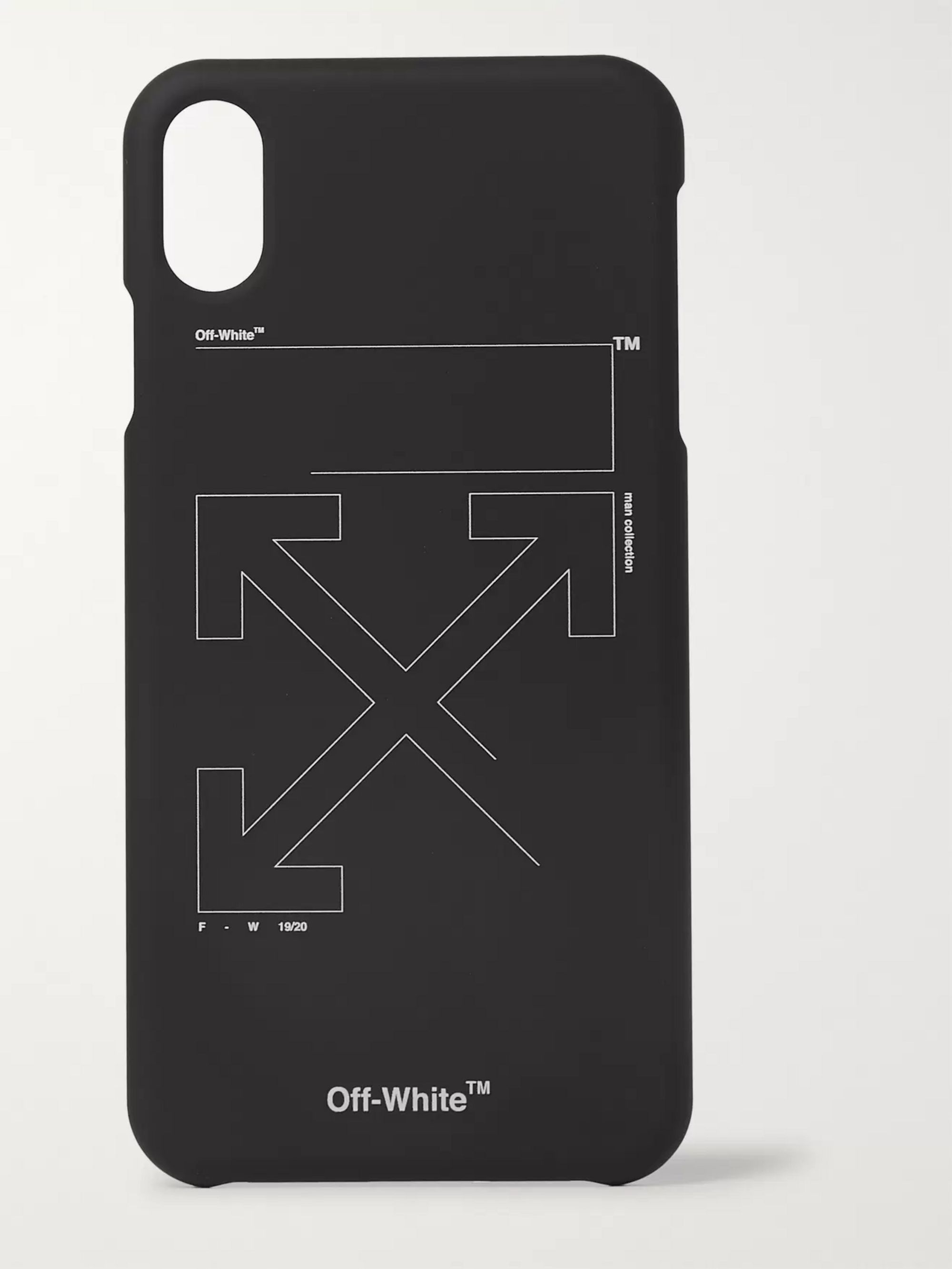 Off-White Logo-Print iPhone XS Max Case