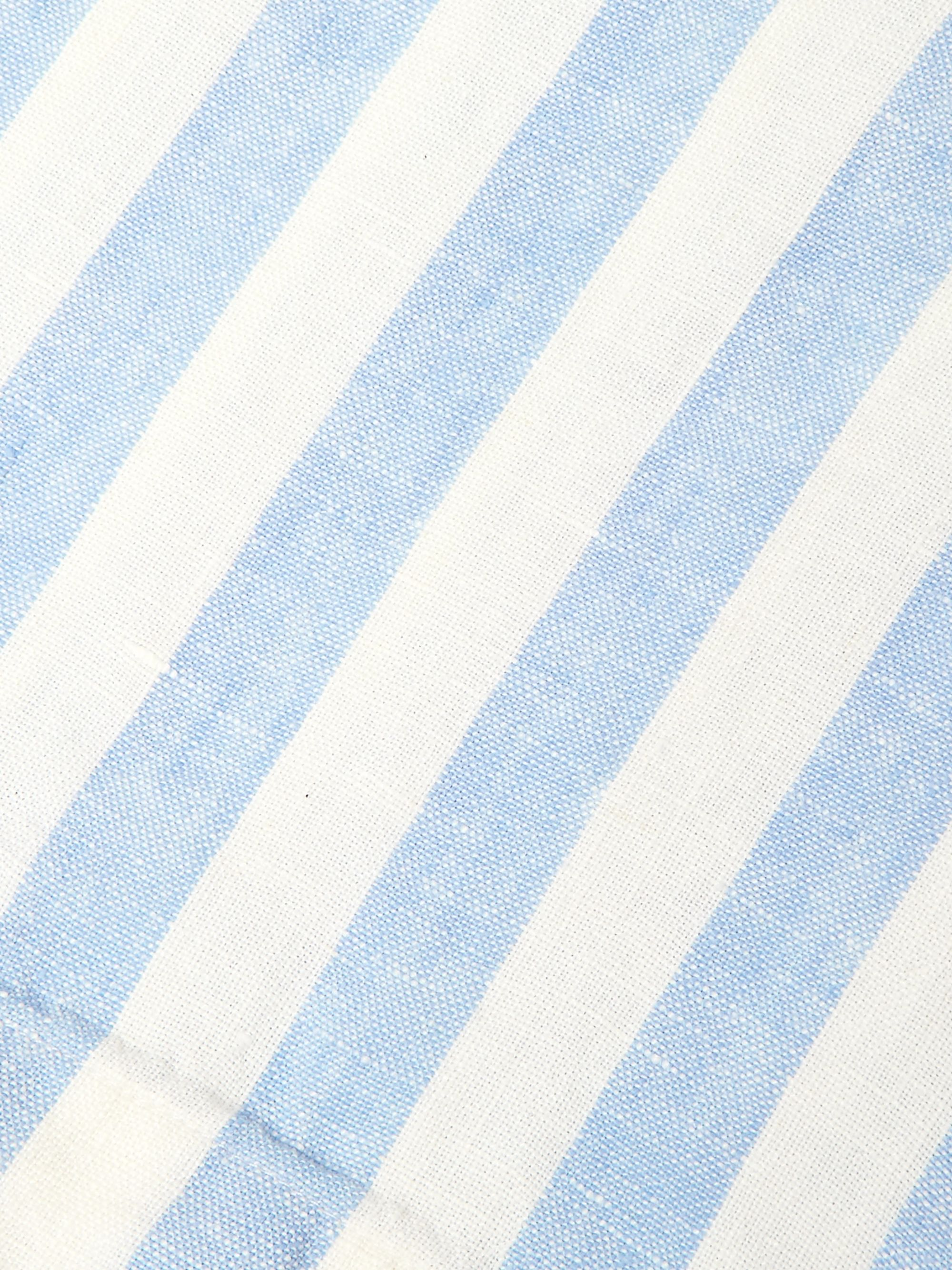 Onia Striped Linen Beach Blanket