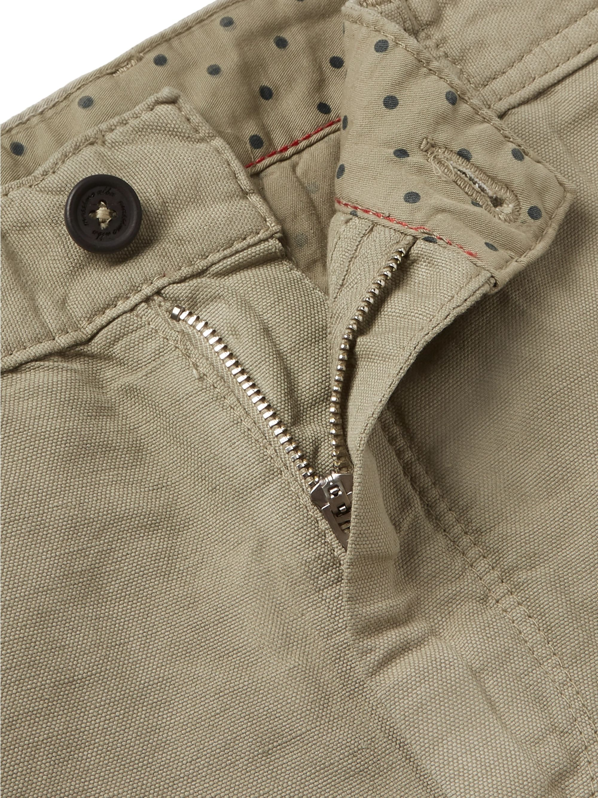Massimo Alba Linen and Cotton-Blend Trousers