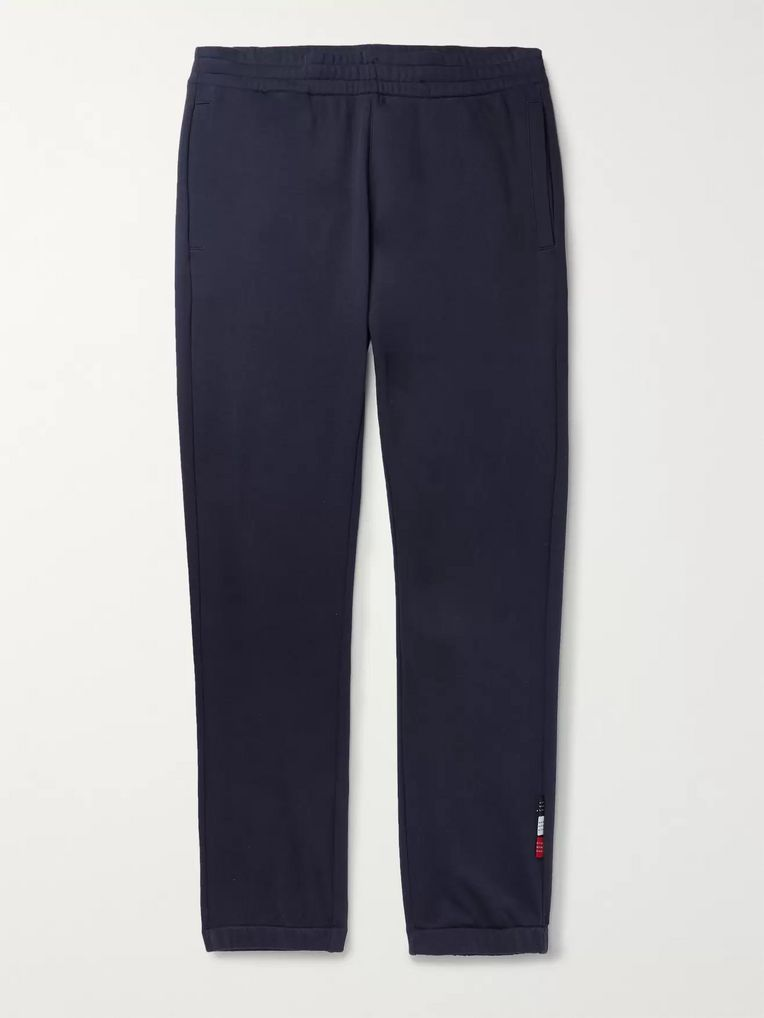Moncler Tapered Loopback Cotton-Jersey Sweatpants