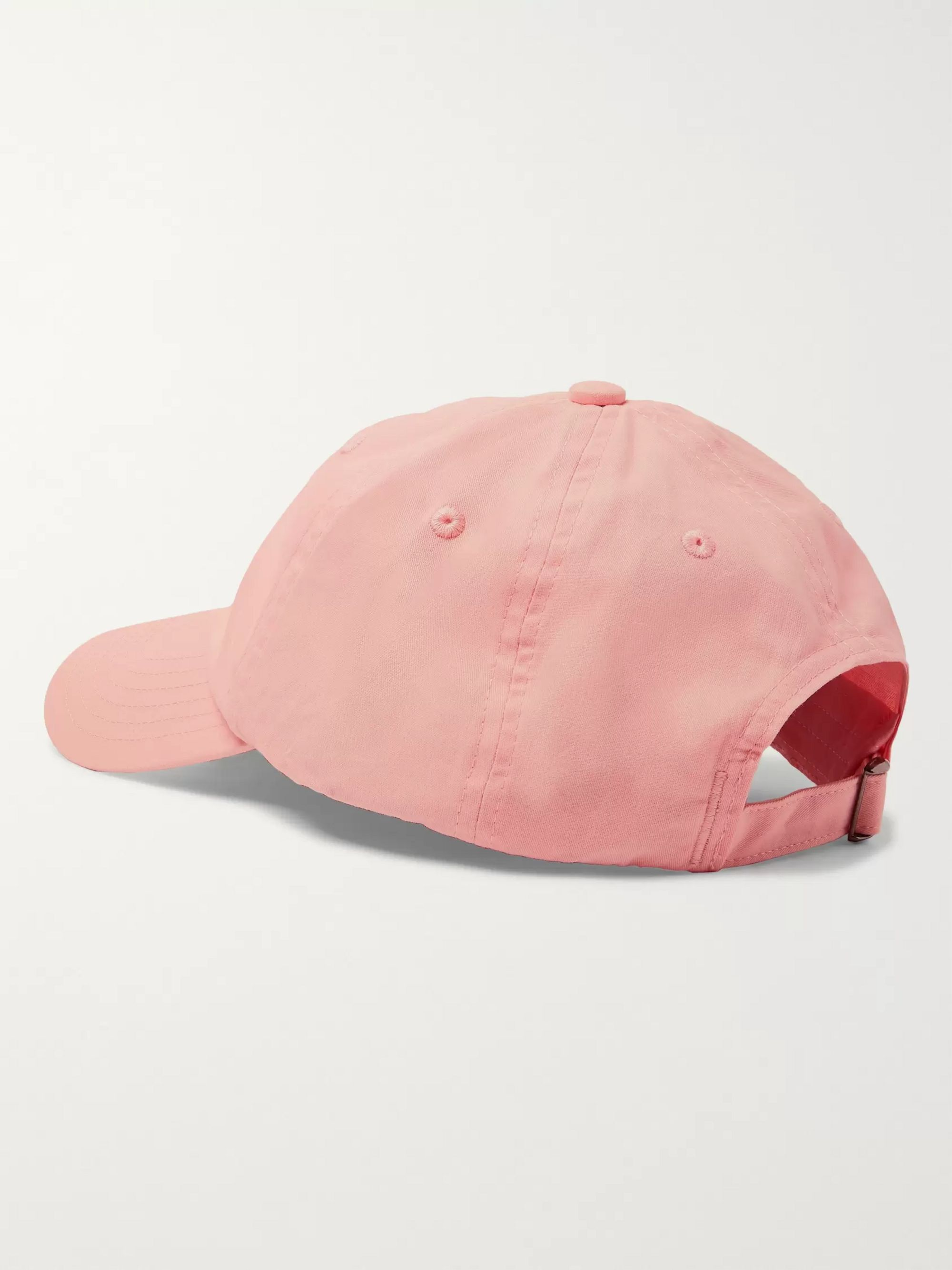 Acne Studios Logo-Appliquéd Cotton-Twill Baseball Cap