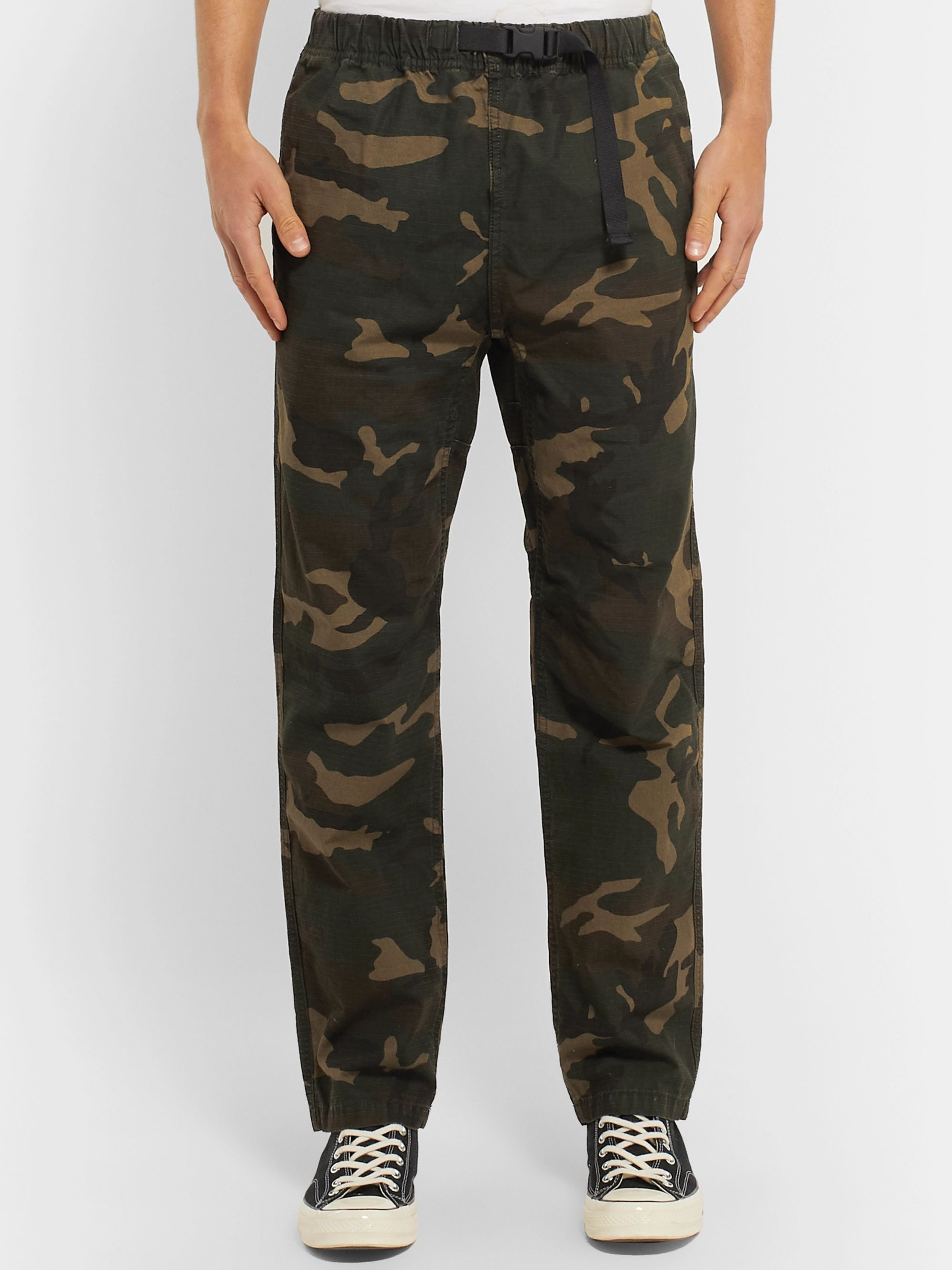 Carhartt WIP Colton Camouflage-Print Cotton-Ripstop Trousers