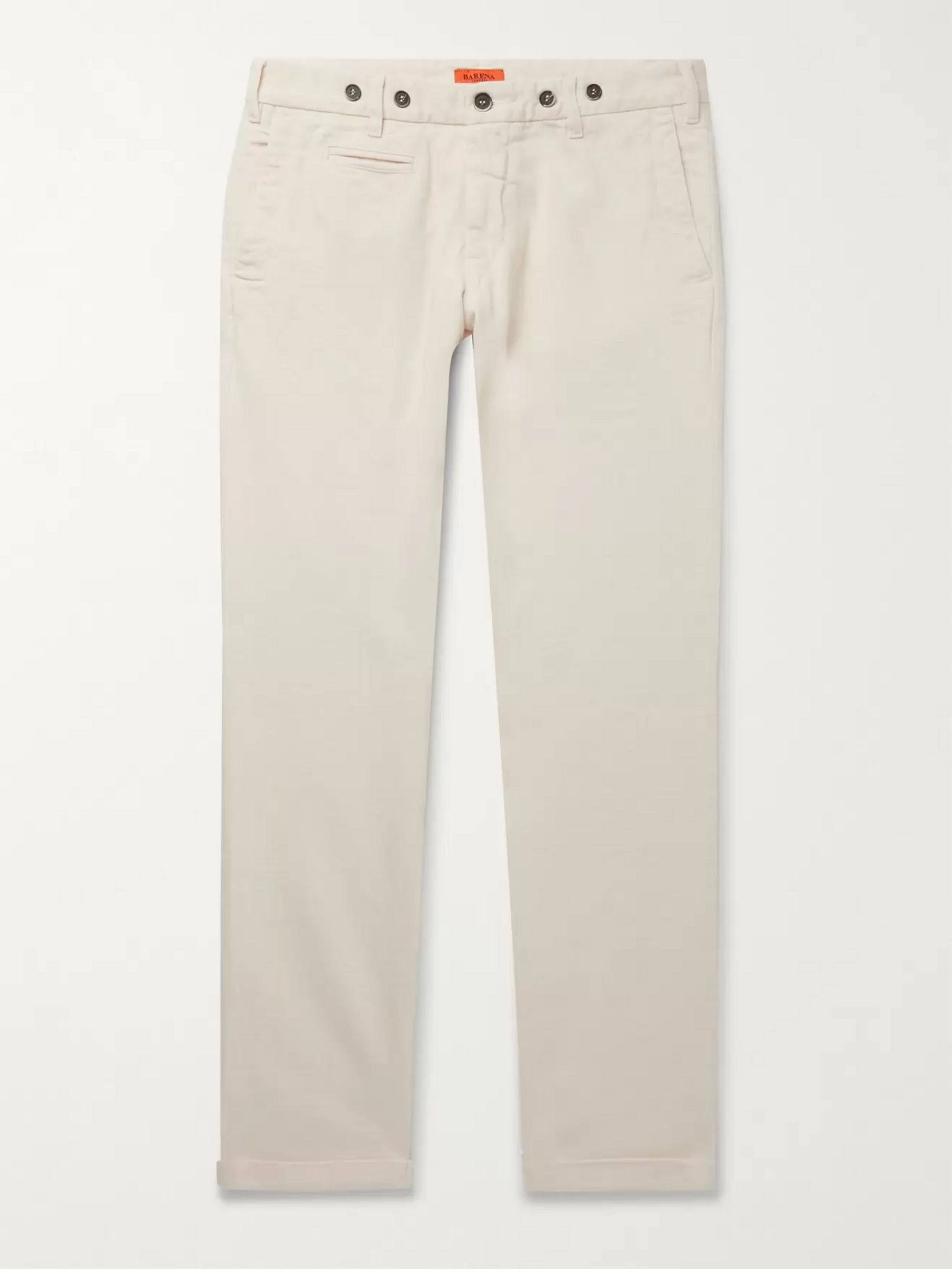 Barena Rampin Cotton-Twill Trousers