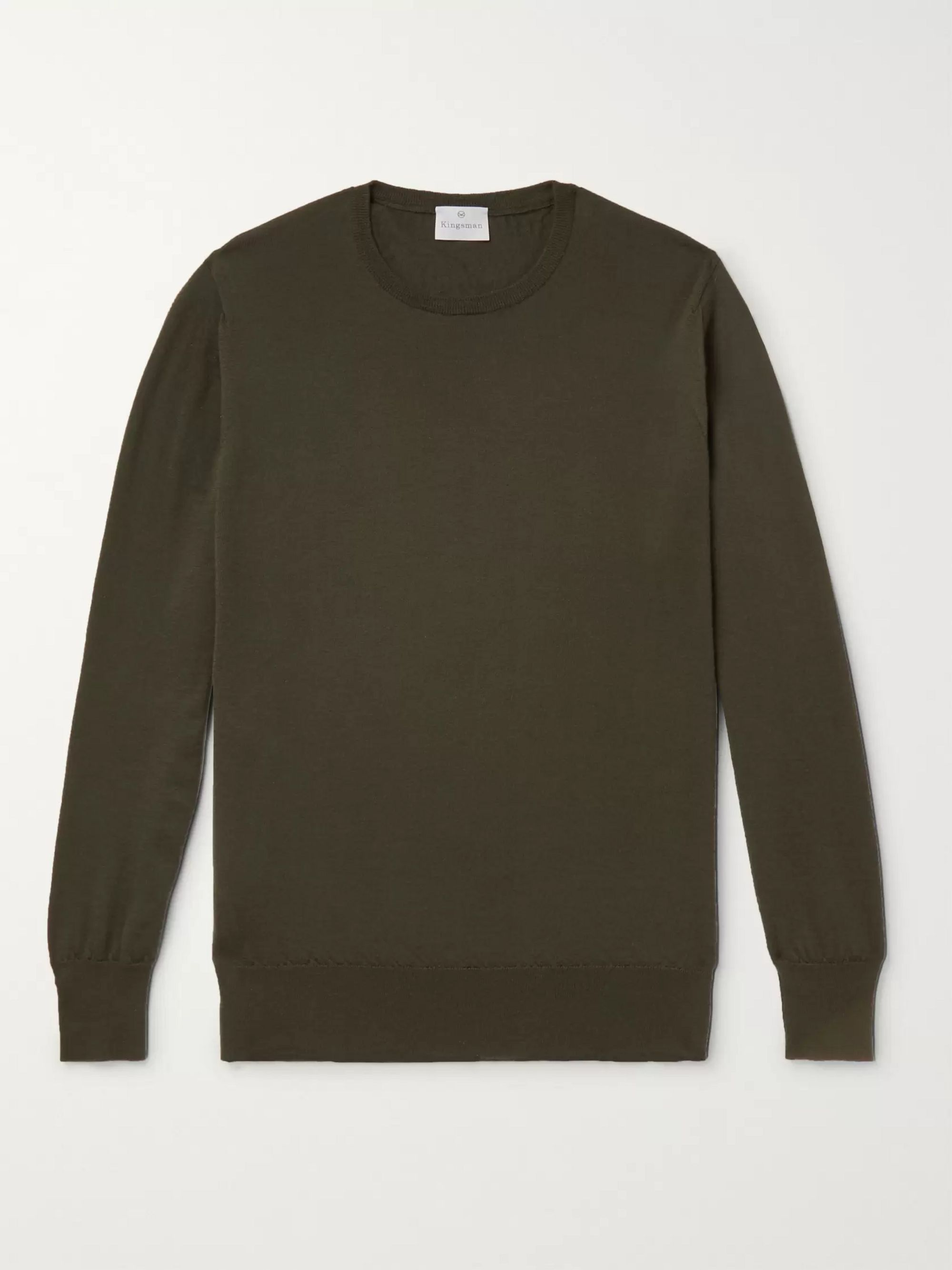 Kingsman Slim-Fit Cashmere Sweater