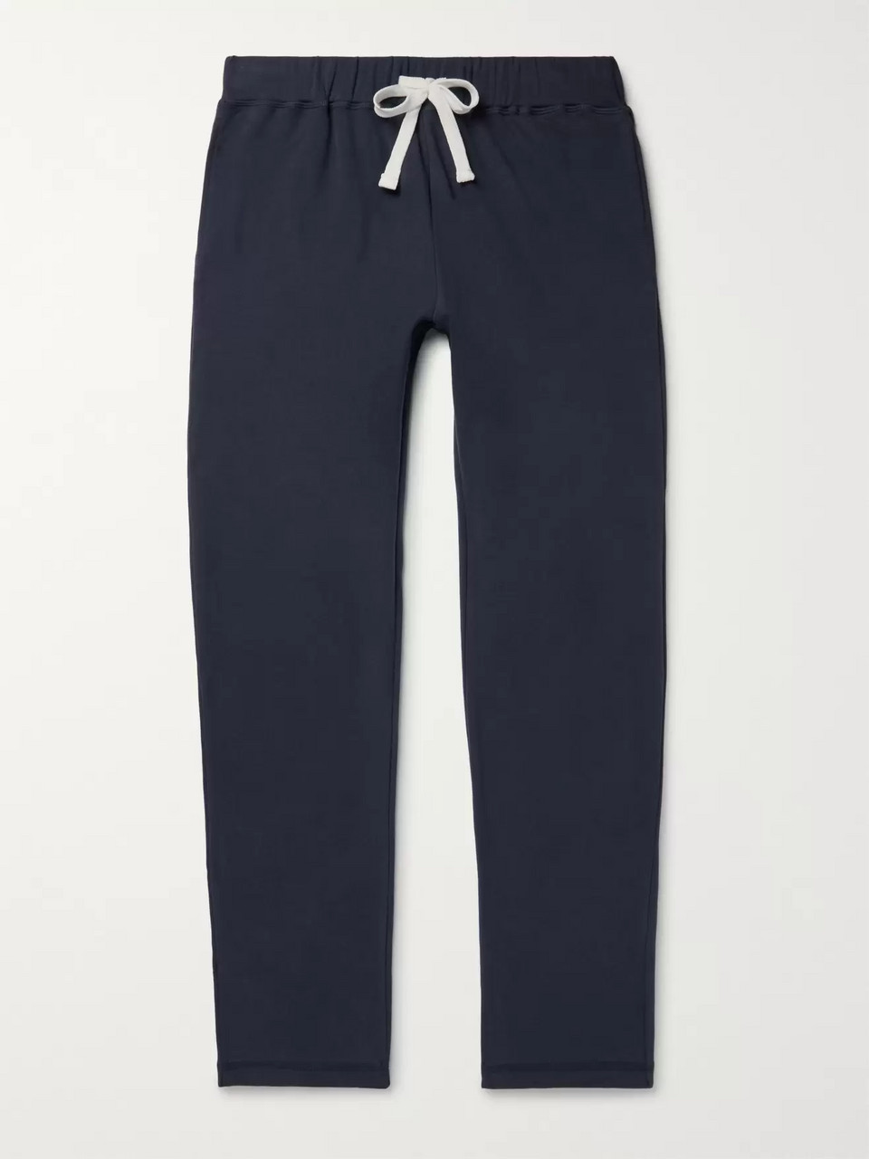 Ermenegildo Zegna Fleece-Back Stretch-Cotton Jersey Sweatpants