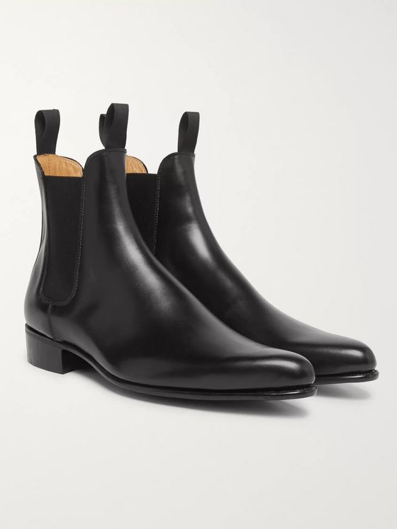 Kingsman + George Cleverley Rocketman Leather Chelsea Boots